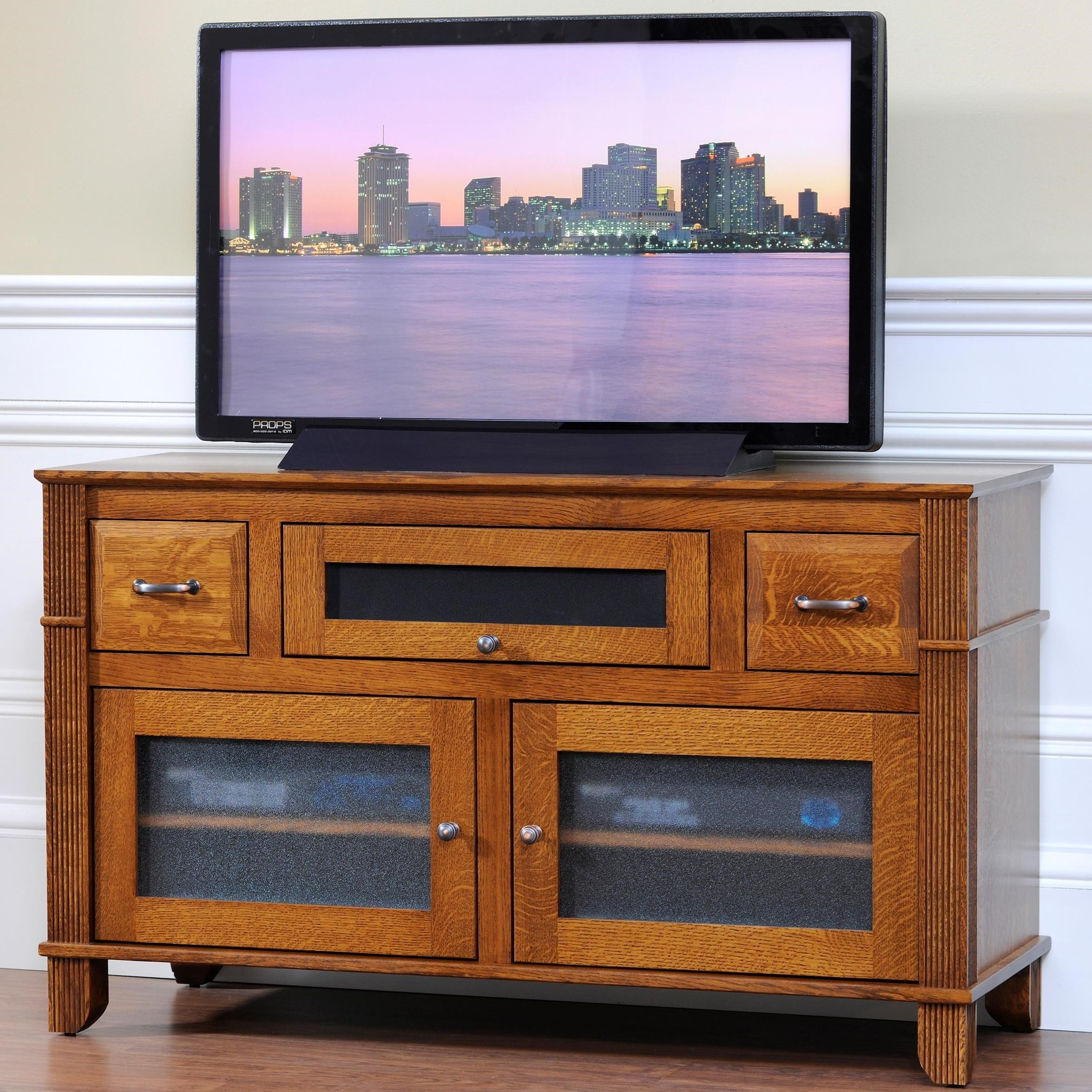 "Arlington 50"" TV Stand by Y & T Woodcraft at Saugerties Furniture Mart"