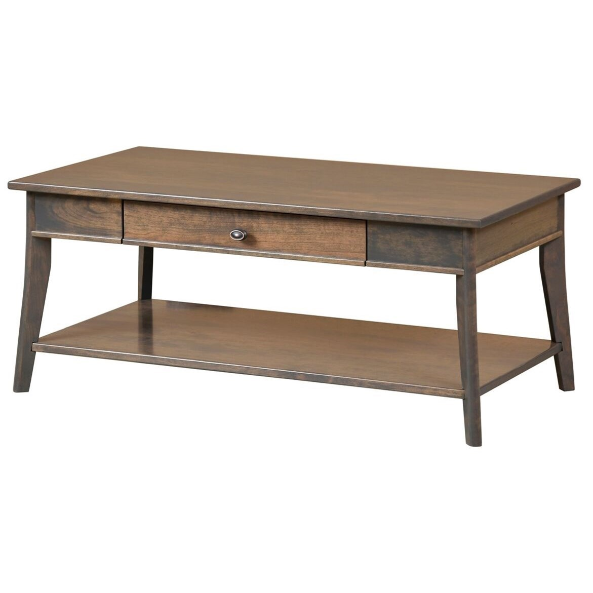 Austin Coffee Table by Y & T Woodcraft at Saugerties Furniture Mart