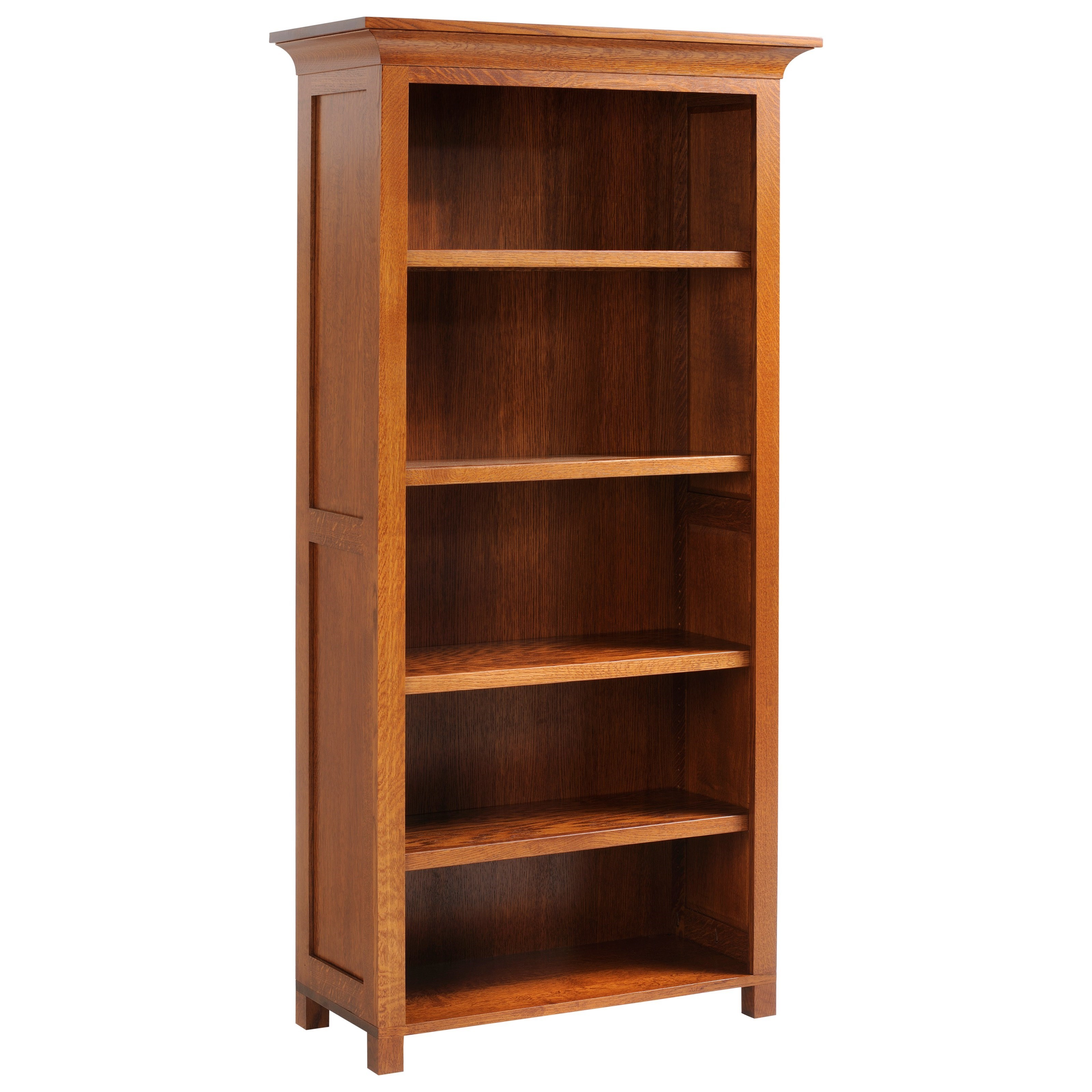 """Coventry Mission 72"""" Bookcase by Y & T Woodcraft at Saugerties Furniture Mart"""