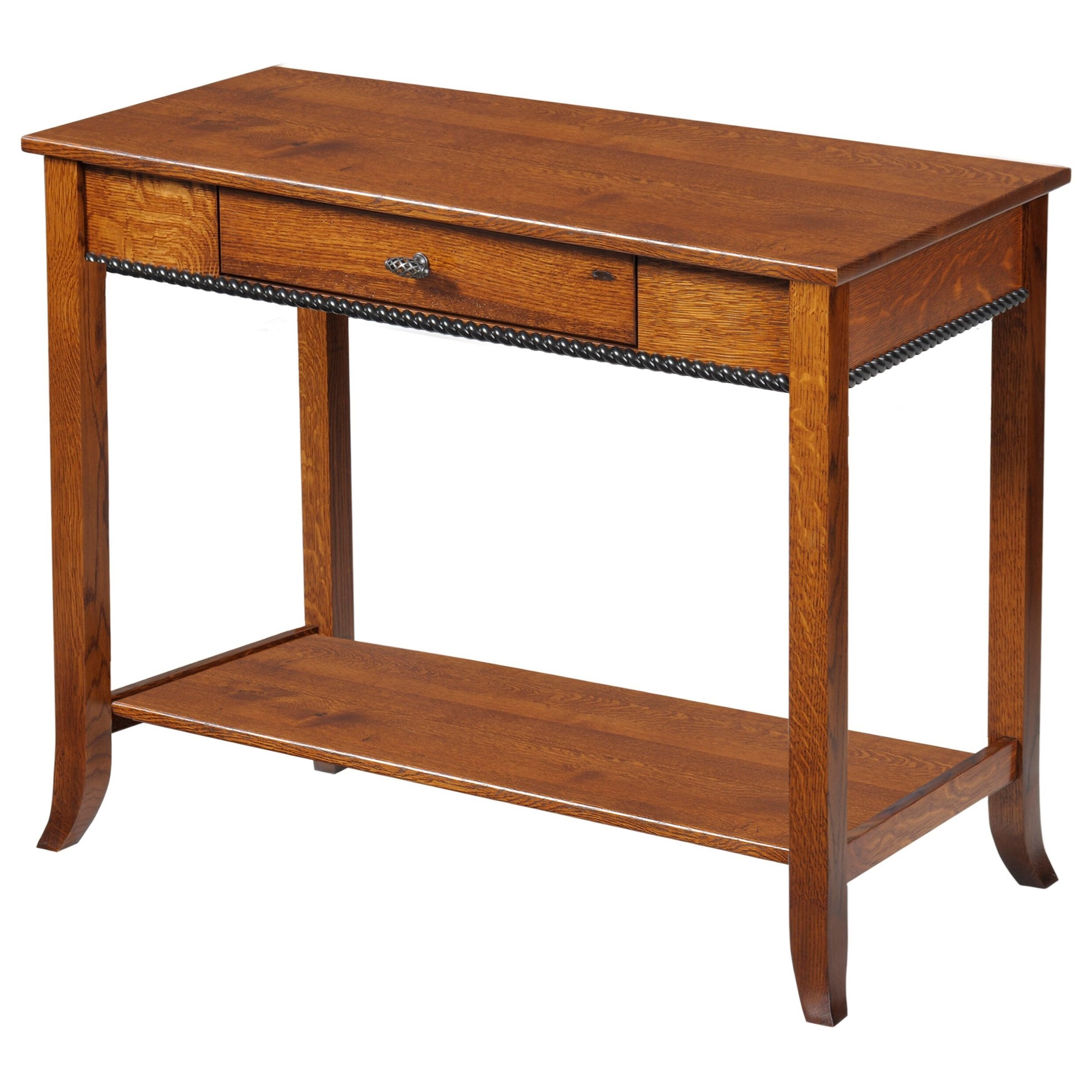 Cranberry Sofa Table by Y & T Woodcraft at Saugerties Furniture Mart