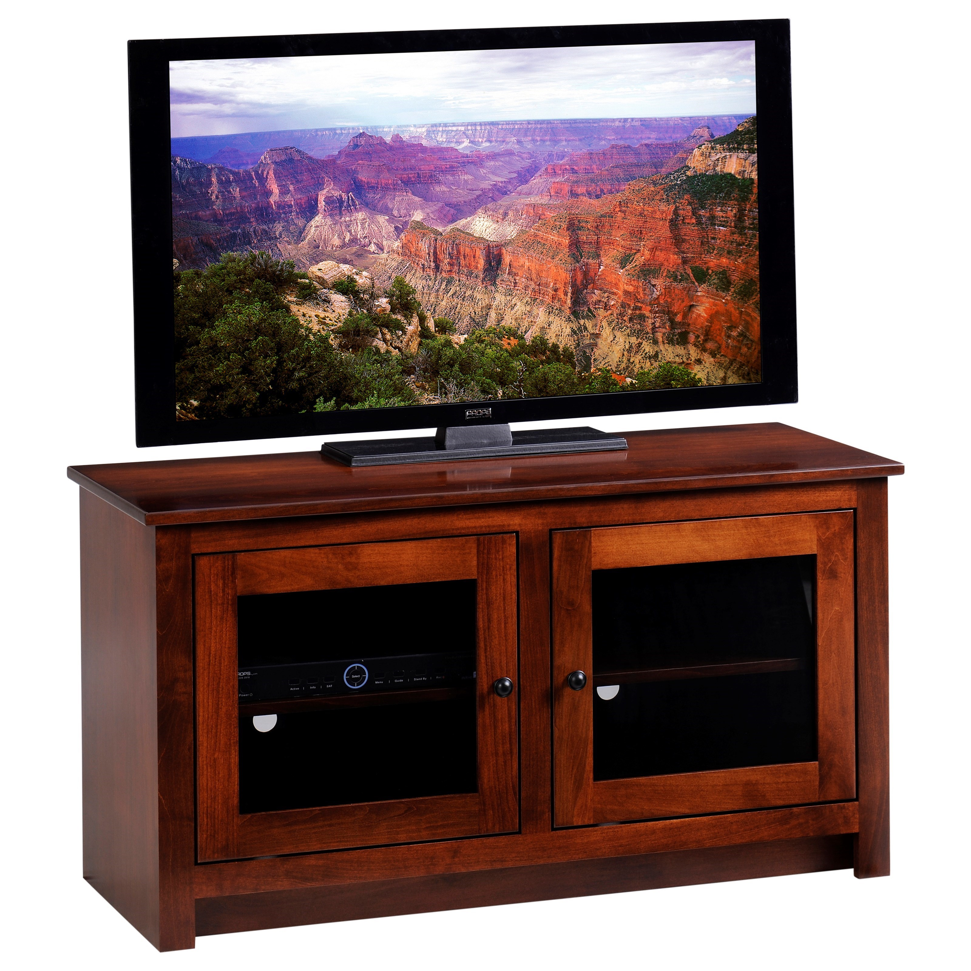 """Express 45"""" TV Stand by Y & T Woodcraft at Saugerties Furniture Mart"""
