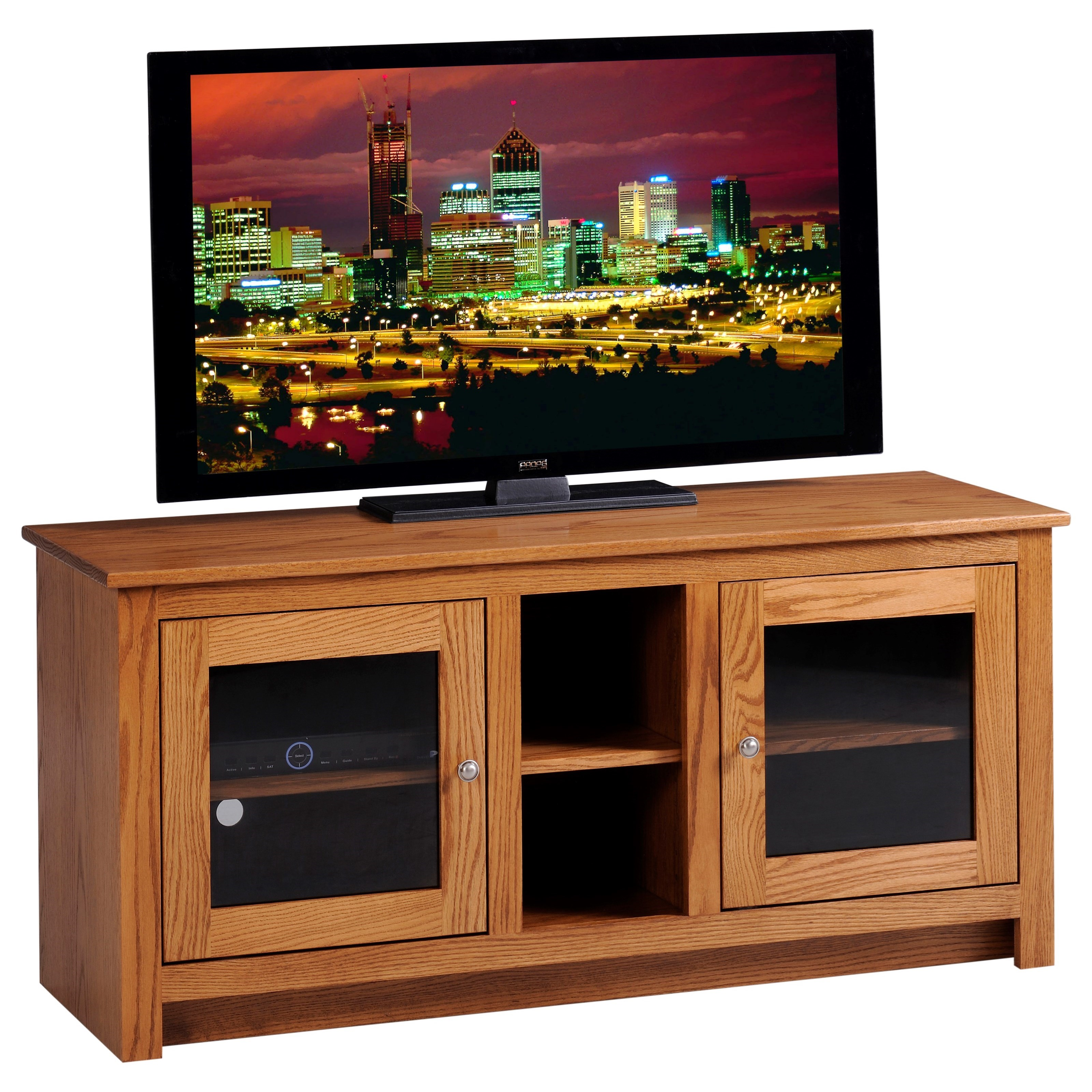 """Express 52"""" TV Stand by Y & T Woodcraft at Saugerties Furniture Mart"""