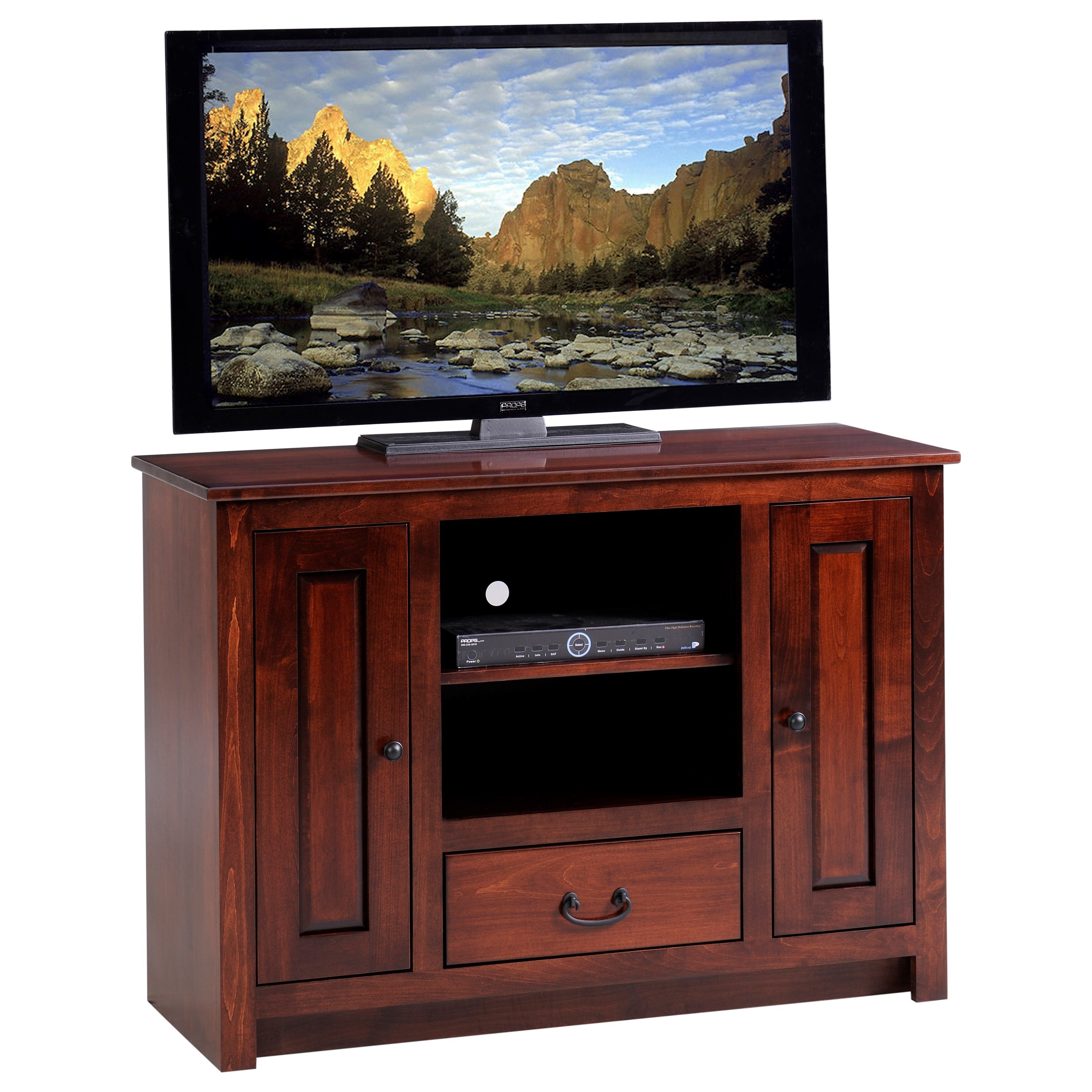 "Express 45"" TV Stand by Y & T Woodcraft at Saugerties Furniture Mart"