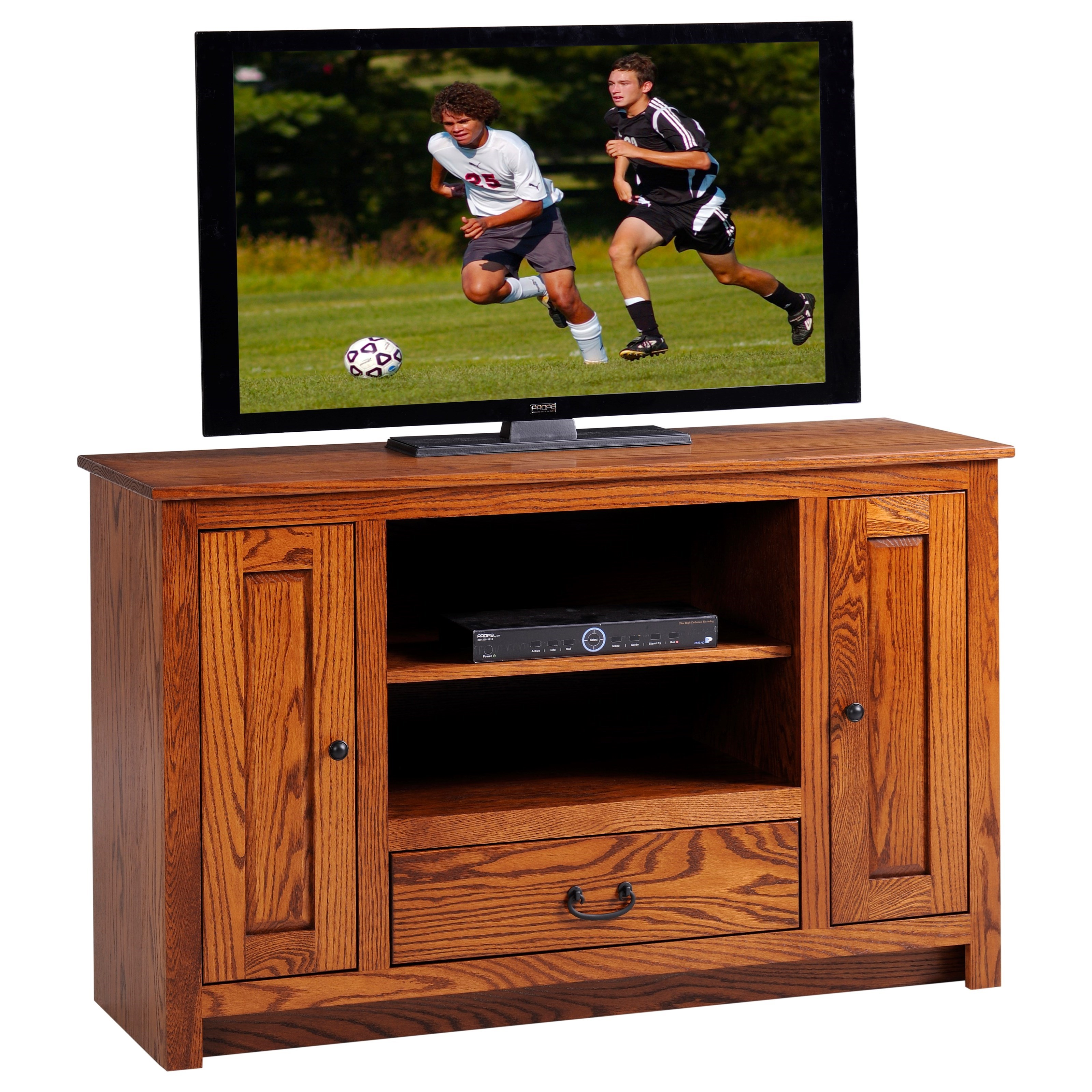 "Express 52"" TV Stand by Y & T Woodcraft at Saugerties Furniture Mart"