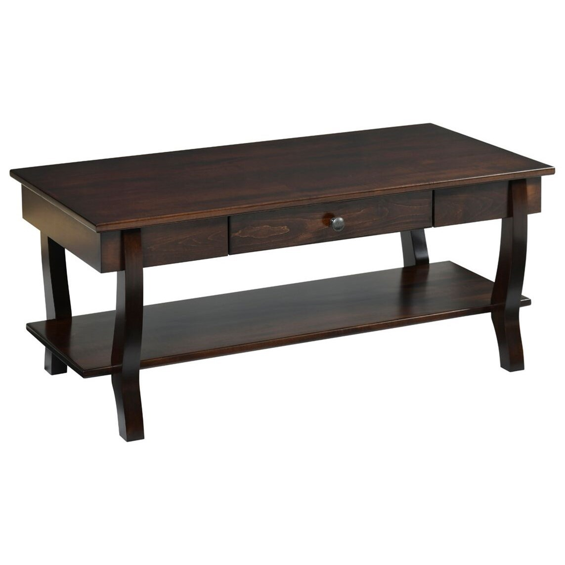 Fairport Coffee Table by Y & T Woodcraft at Saugerties Furniture Mart