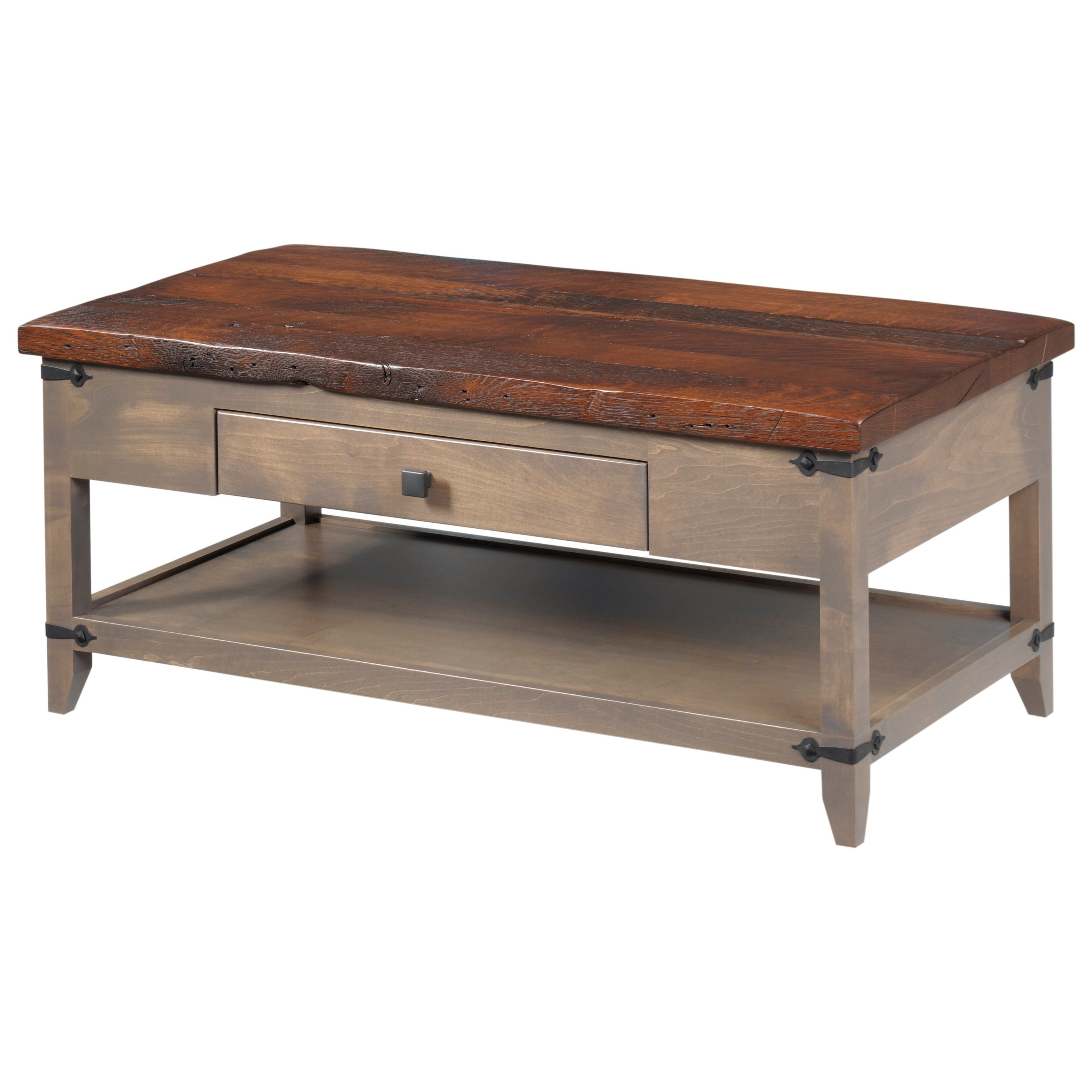 Frontier Coffee Table by Y & T Woodcraft at Saugerties Furniture Mart