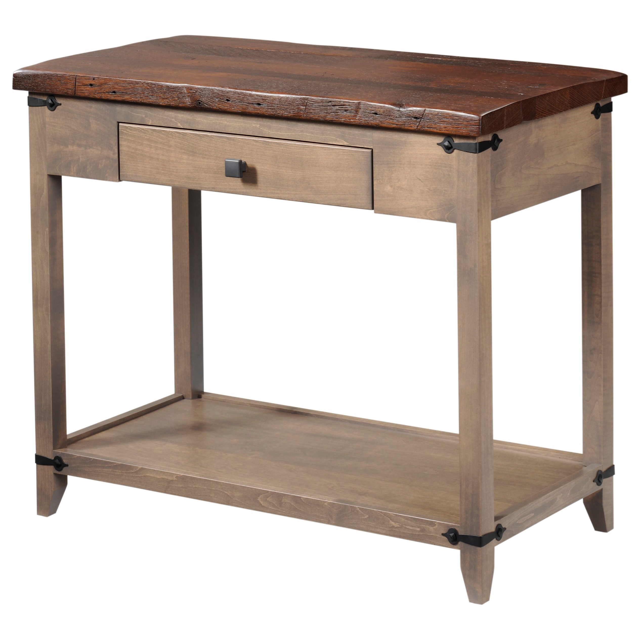 Frontier Sofa Table by Y & T Woodcraft at Saugerties Furniture Mart