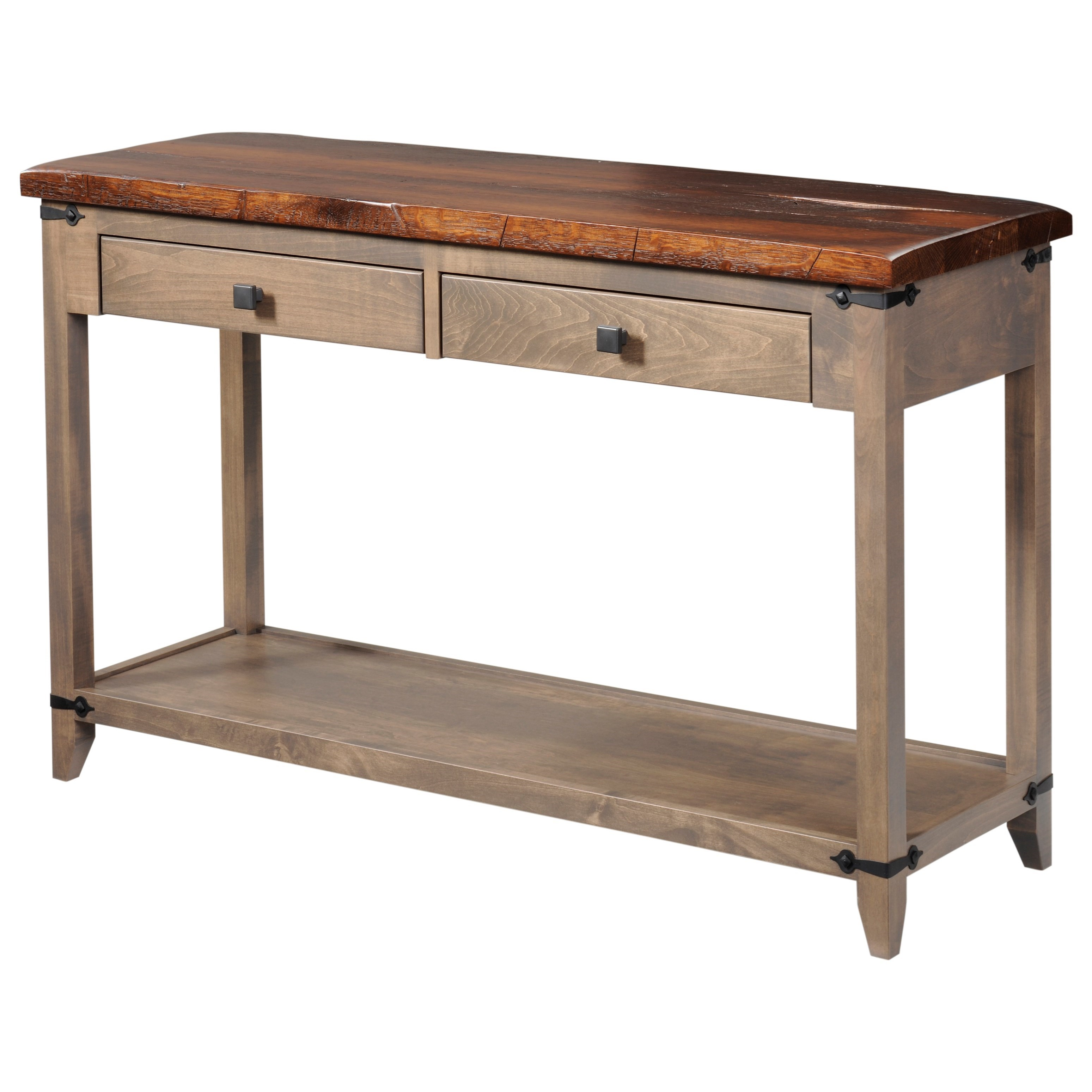 Frontier Hall Table by Y & T Woodcraft at Saugerties Furniture Mart