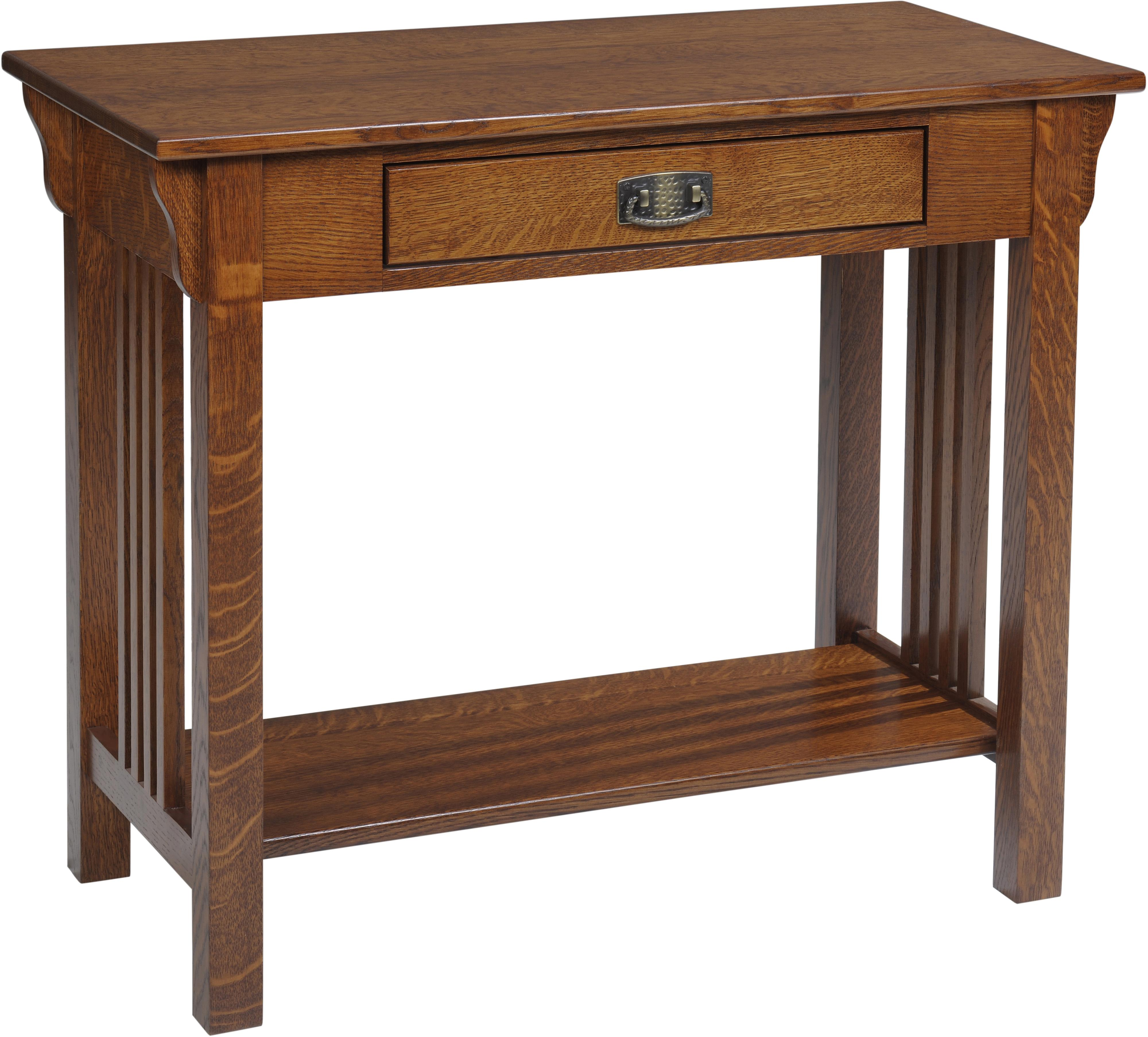 Lexington Mission Sofa Table by Y & T Woodcraft at Saugerties Furniture Mart