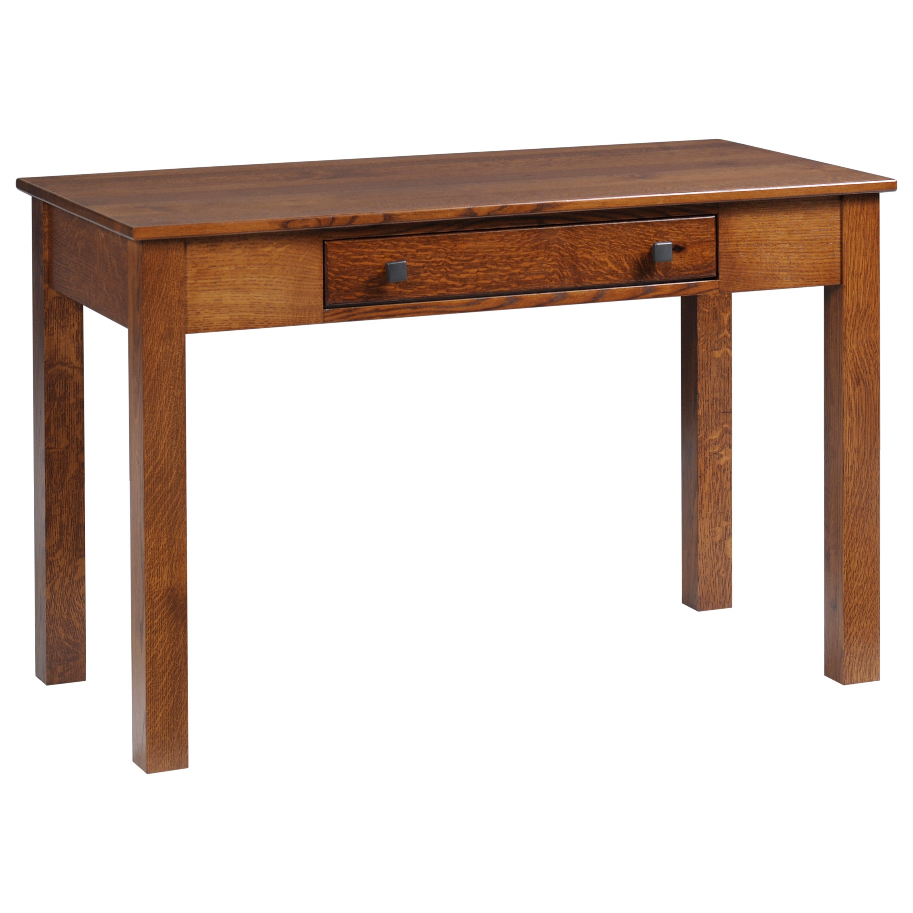 """Mission Modular 48"""" Desk by Y & T Woodcraft at Saugerties Furniture Mart"""