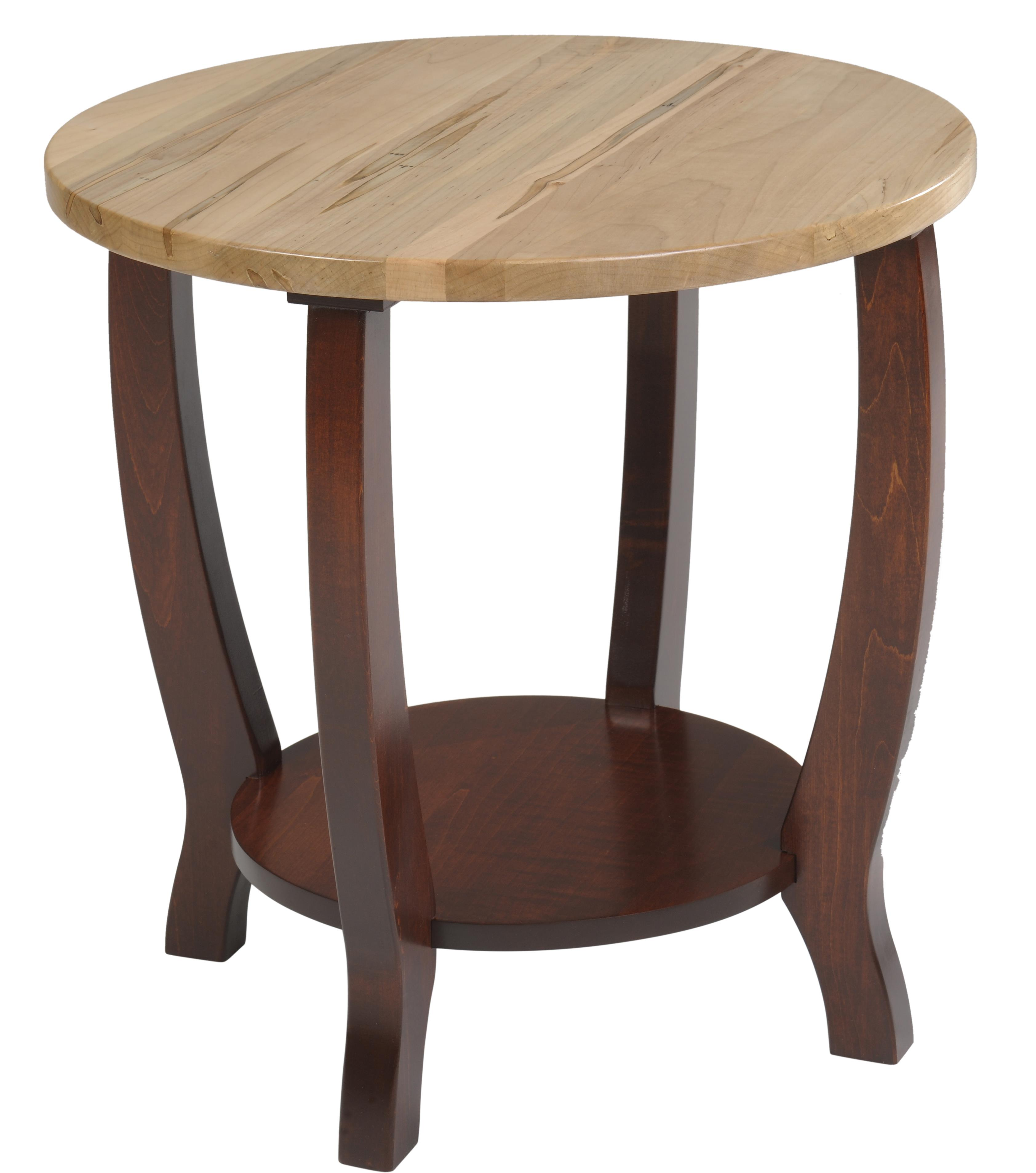 New Port End Table by Y & T Woodcraft at Saugerties Furniture Mart