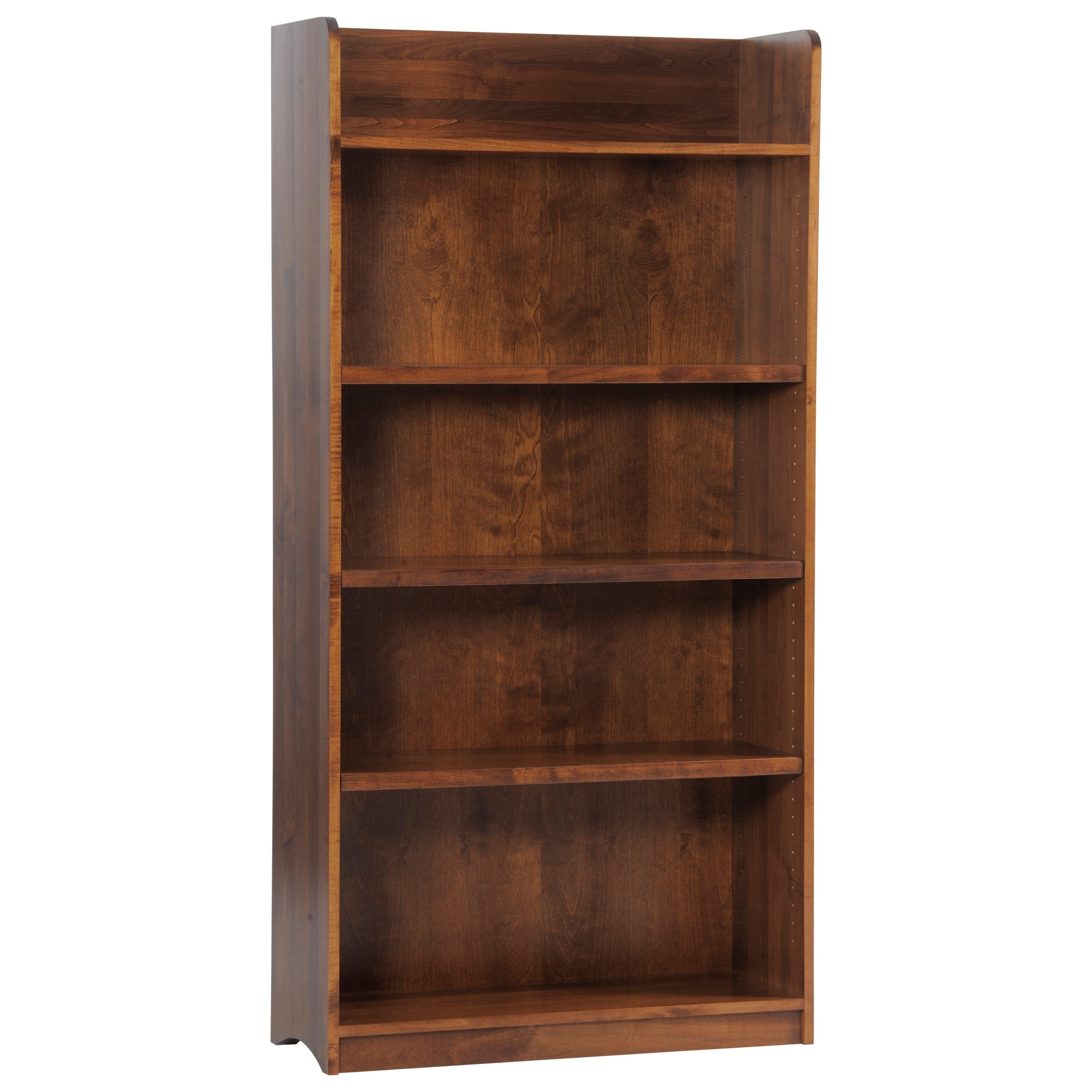 Rivertown Home Office Bookcase by Y & T Woodcraft at Saugerties Furniture Mart
