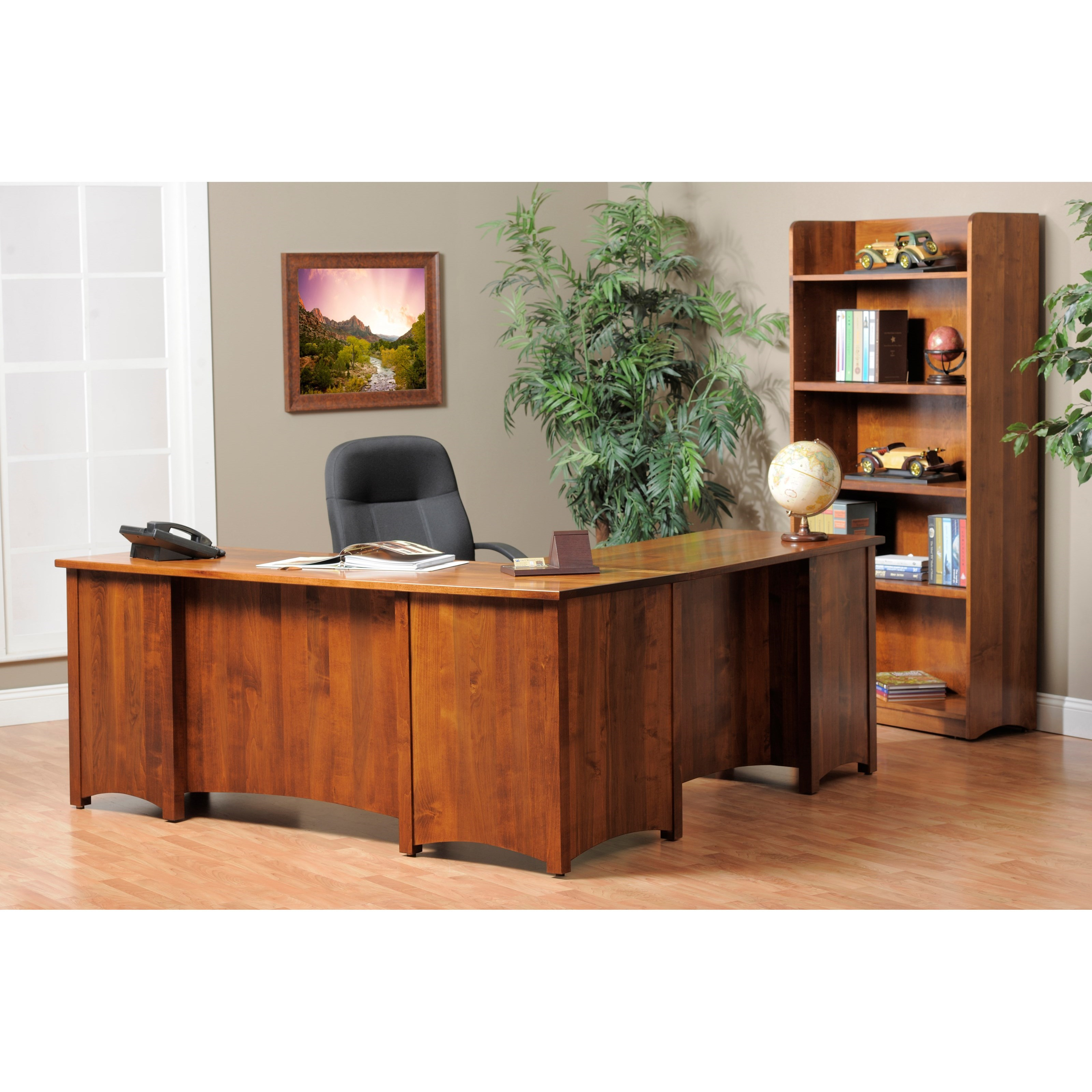 Rivertown Home Office Office Group by Y & T Woodcraft at Saugerties Furniture Mart
