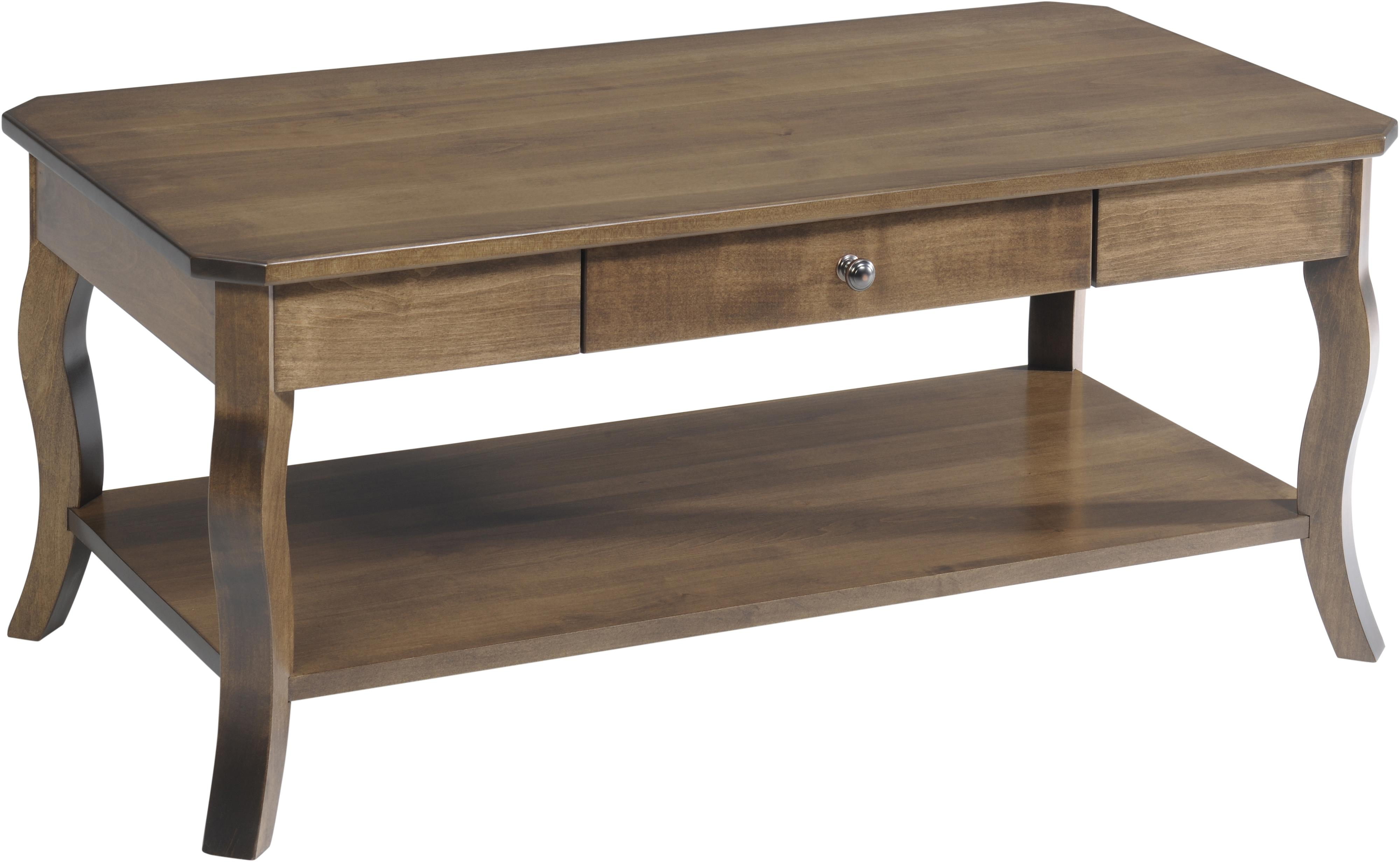 Sundance Coffee Table by Y & T Woodcraft at Saugerties Furniture Mart