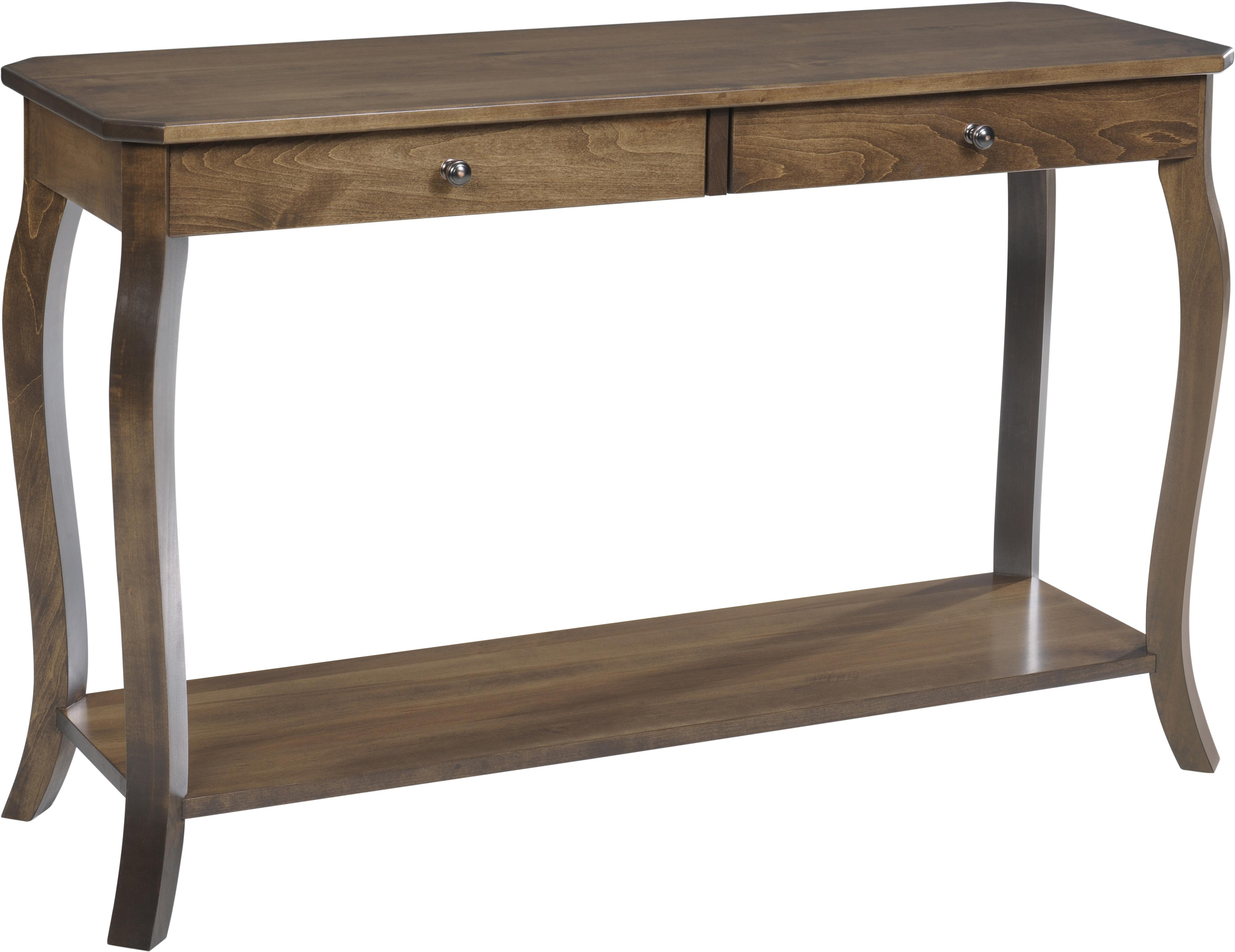 Sundance Hall Table by Y & T Woodcraft at Saugerties Furniture Mart