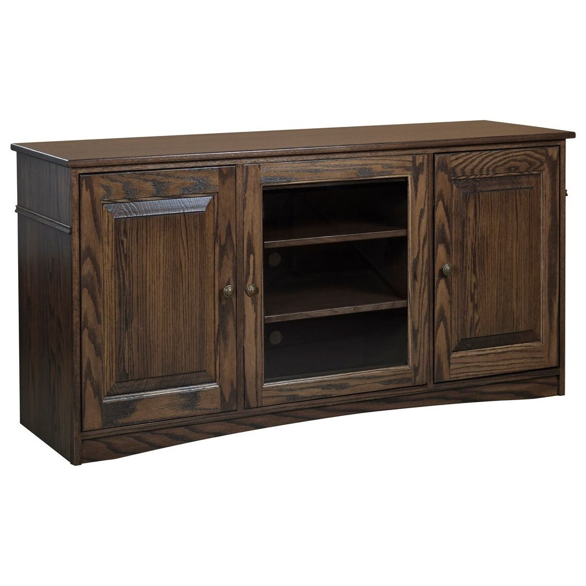 Traditional TV Stand by Y & T Woodcraft at Saugerties Furniture Mart