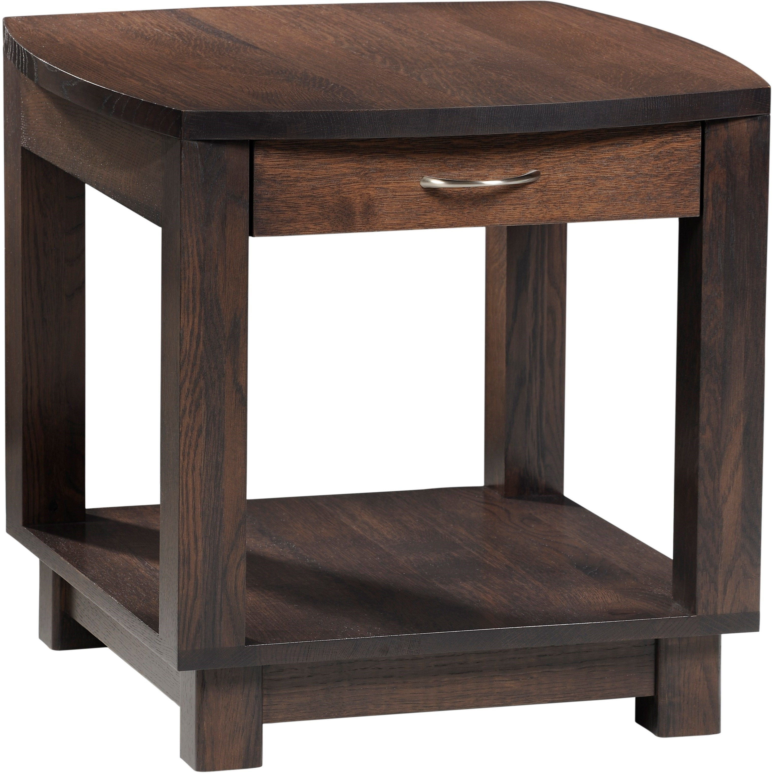 Urban End Table by Y & T Woodcraft at Saugerties Furniture Mart