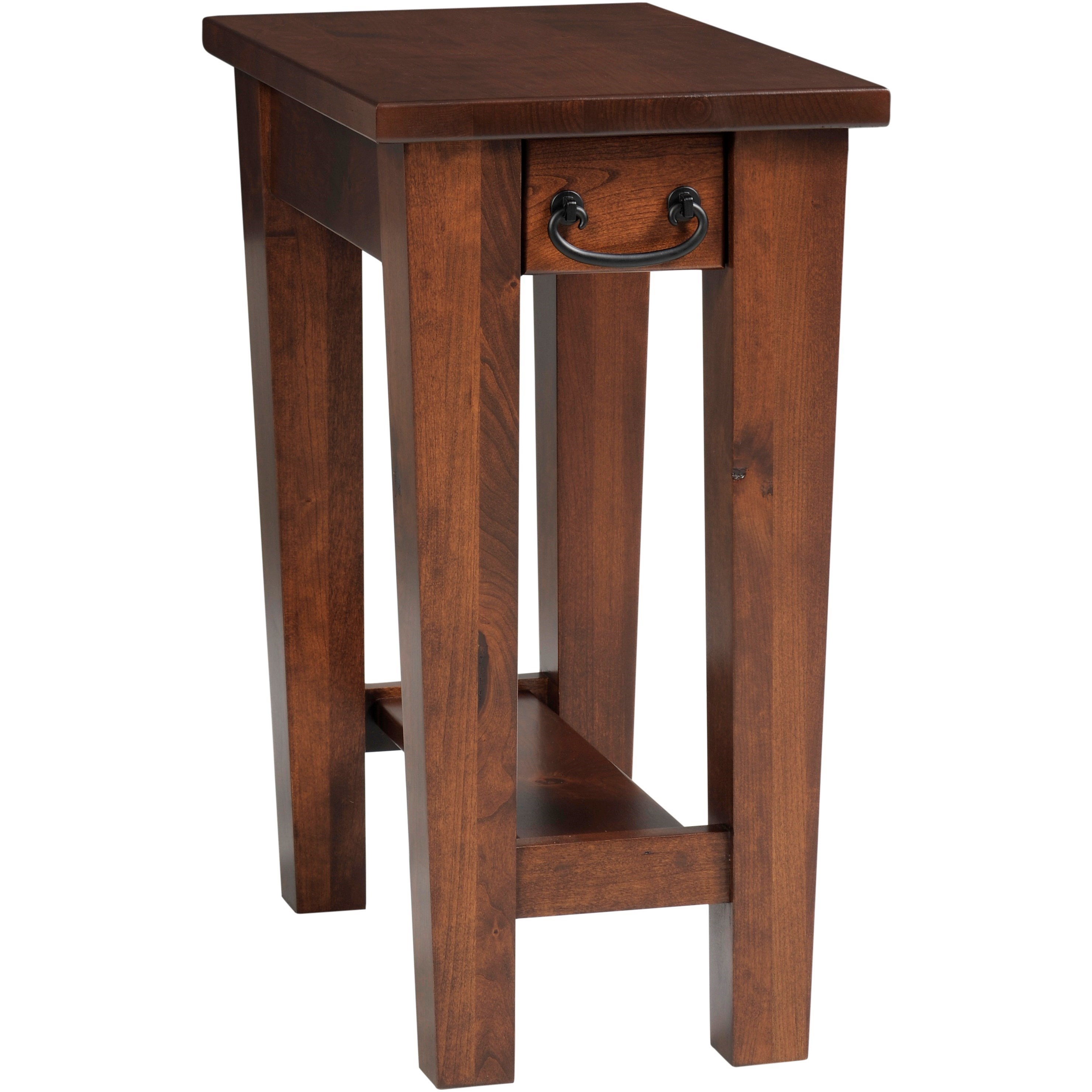 Urban Shaker Chairside Table by Y & T Woodcraft at Saugerties Furniture Mart