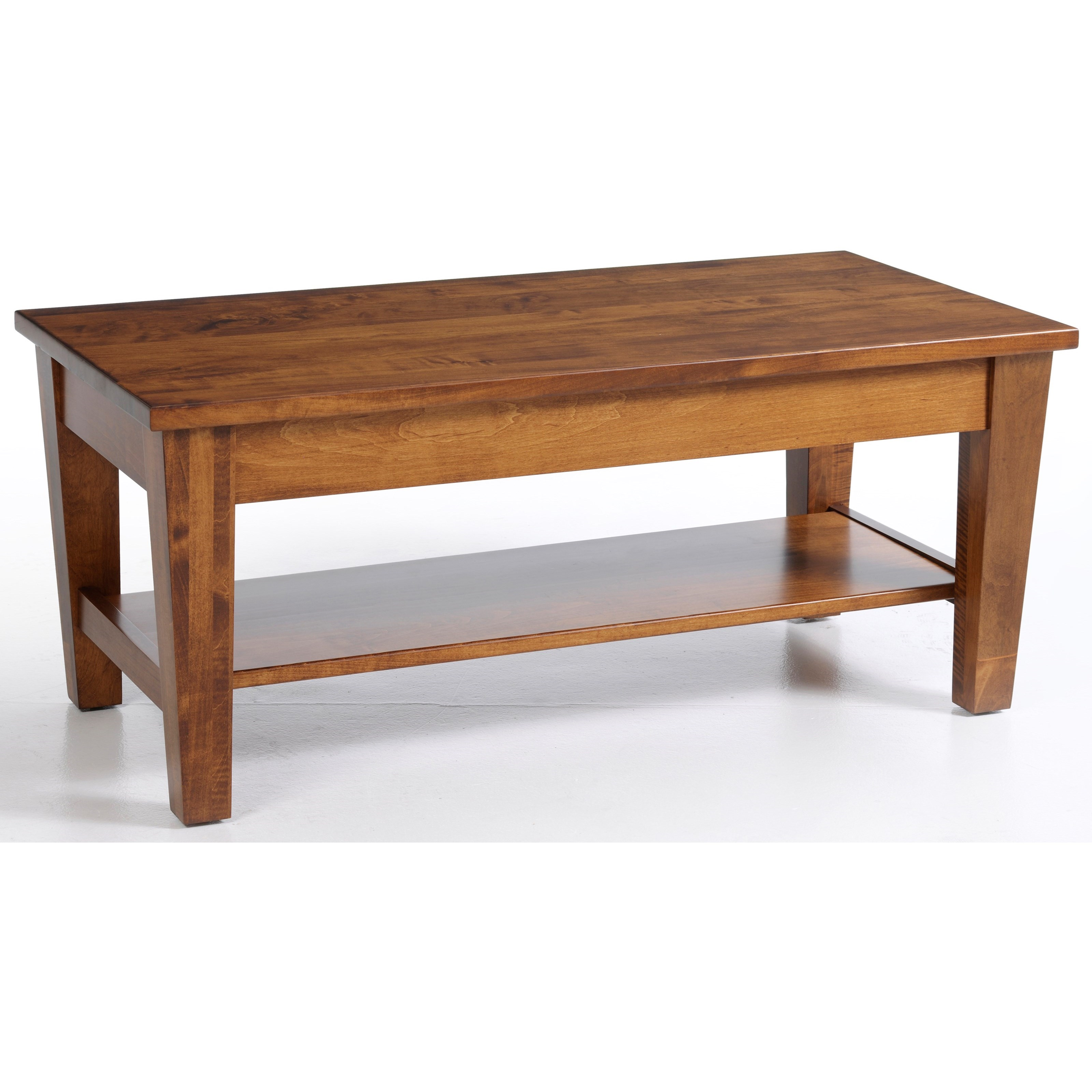 Urban Shaker Coffee Table by Y & T Woodcraft at Saugerties Furniture Mart