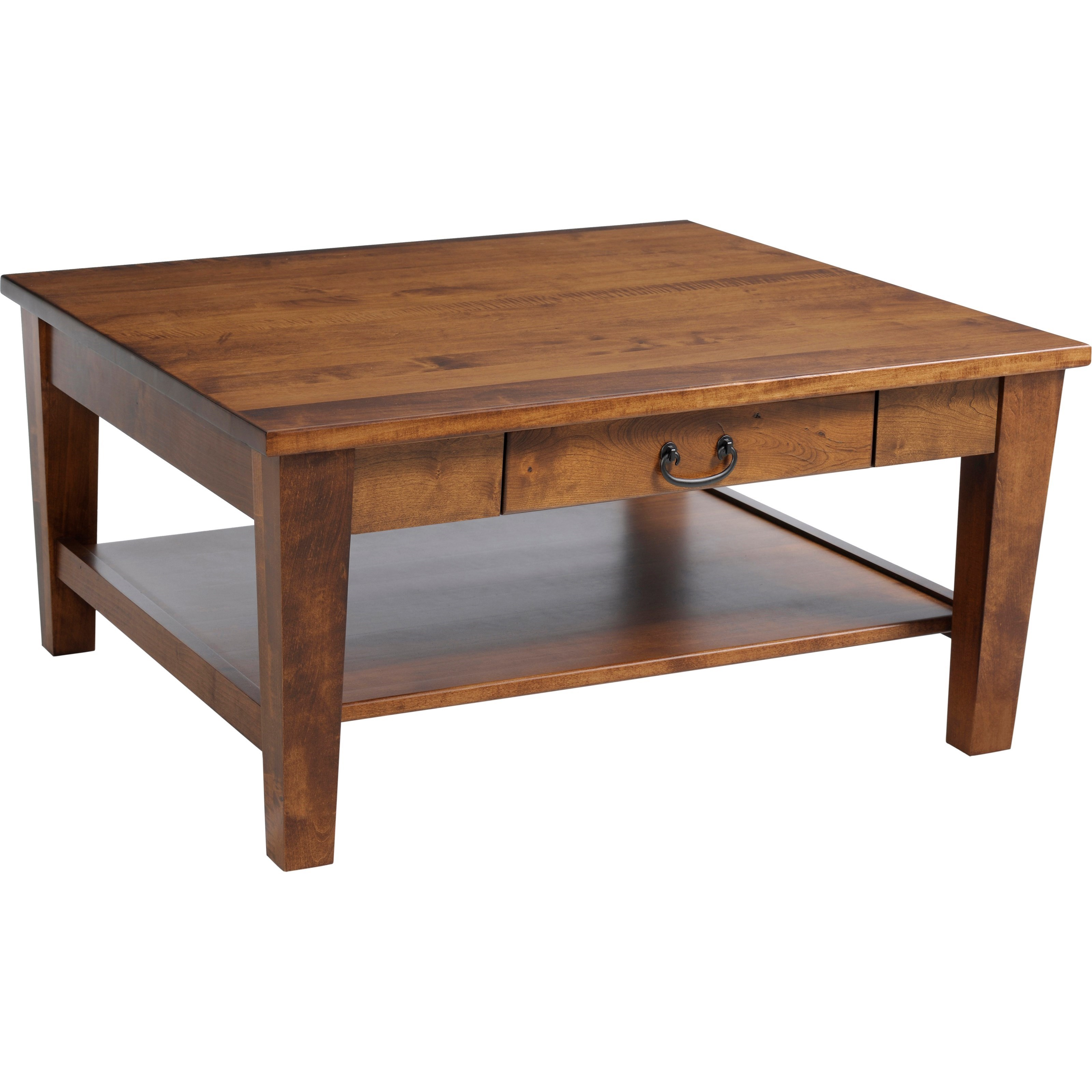 Urban Shaker Square Coffee Table by Y & T Woodcraft at Saugerties Furniture Mart