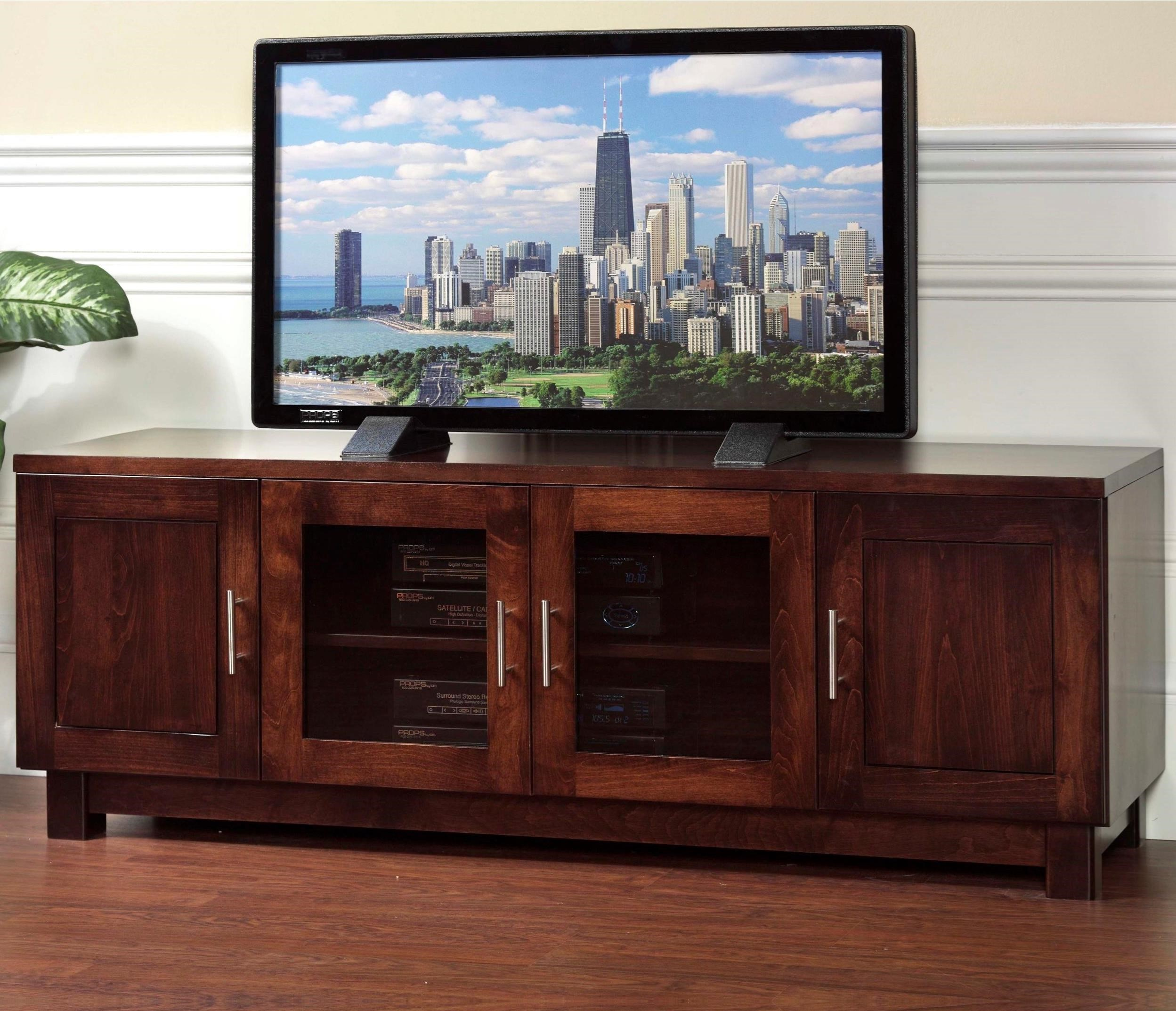 "Urban 60"" TV Stand by Y & T Woodcraft at Saugerties Furniture Mart"