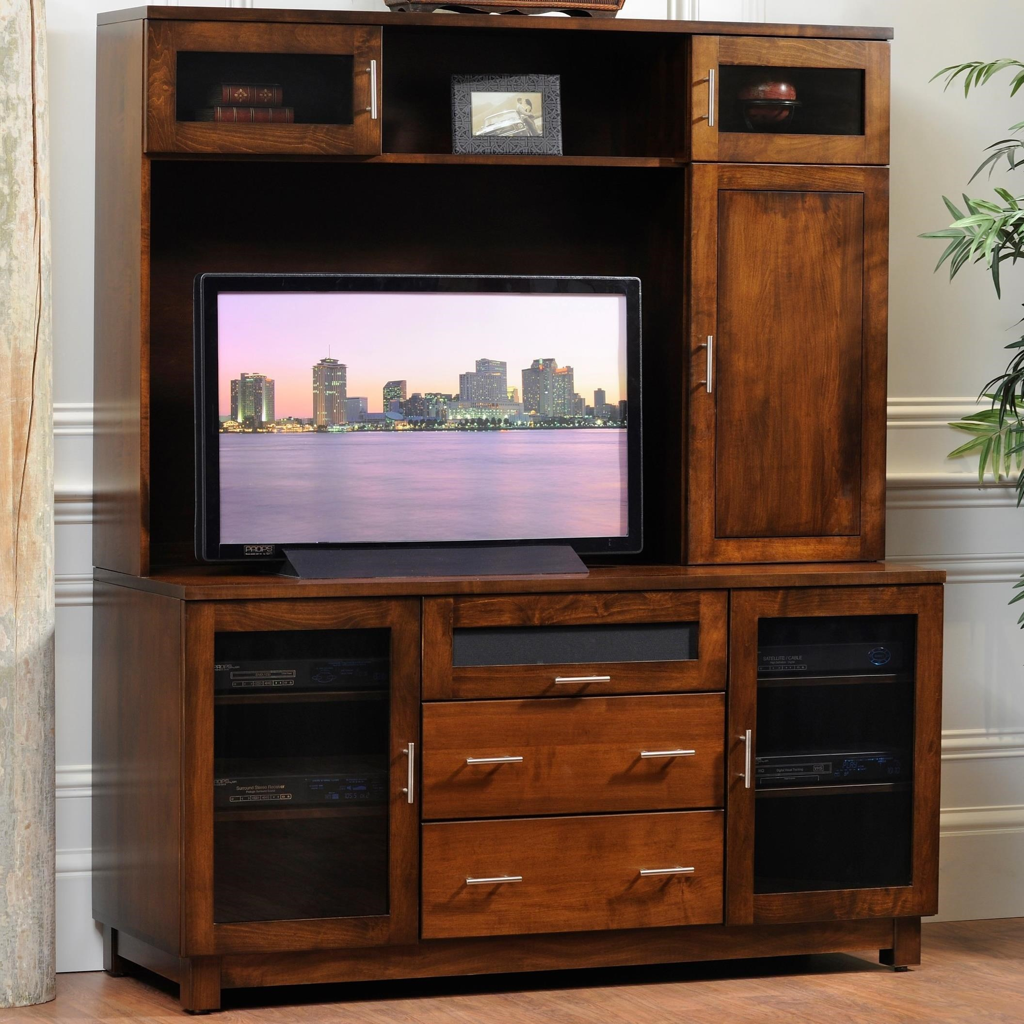 """Urban 69"""" TV Cabinet by Y & T Woodcraft at Saugerties Furniture Mart"""