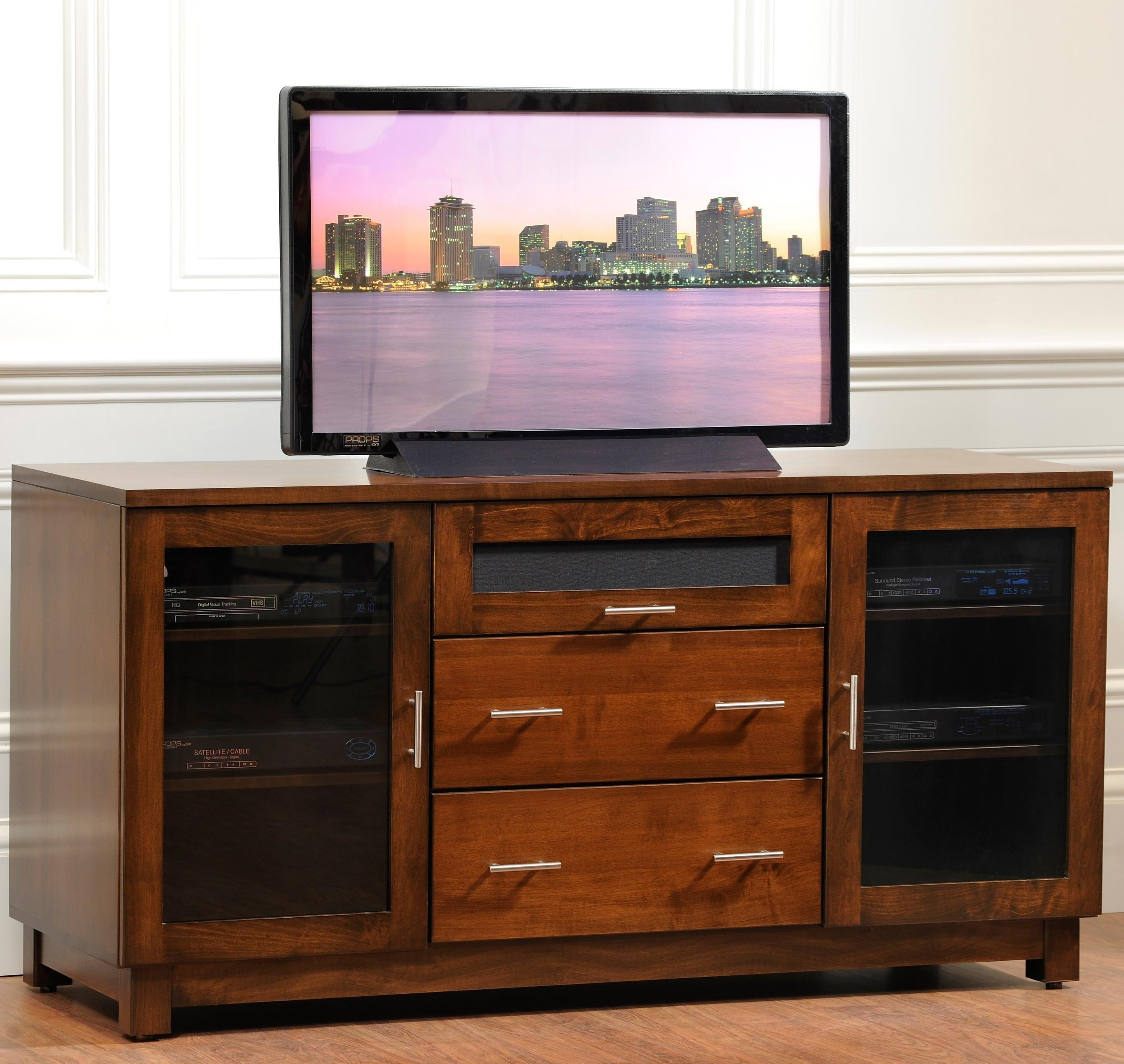 """Urban 69"""" TV Stand by Y & T Woodcraft at Saugerties Furniture Mart"""