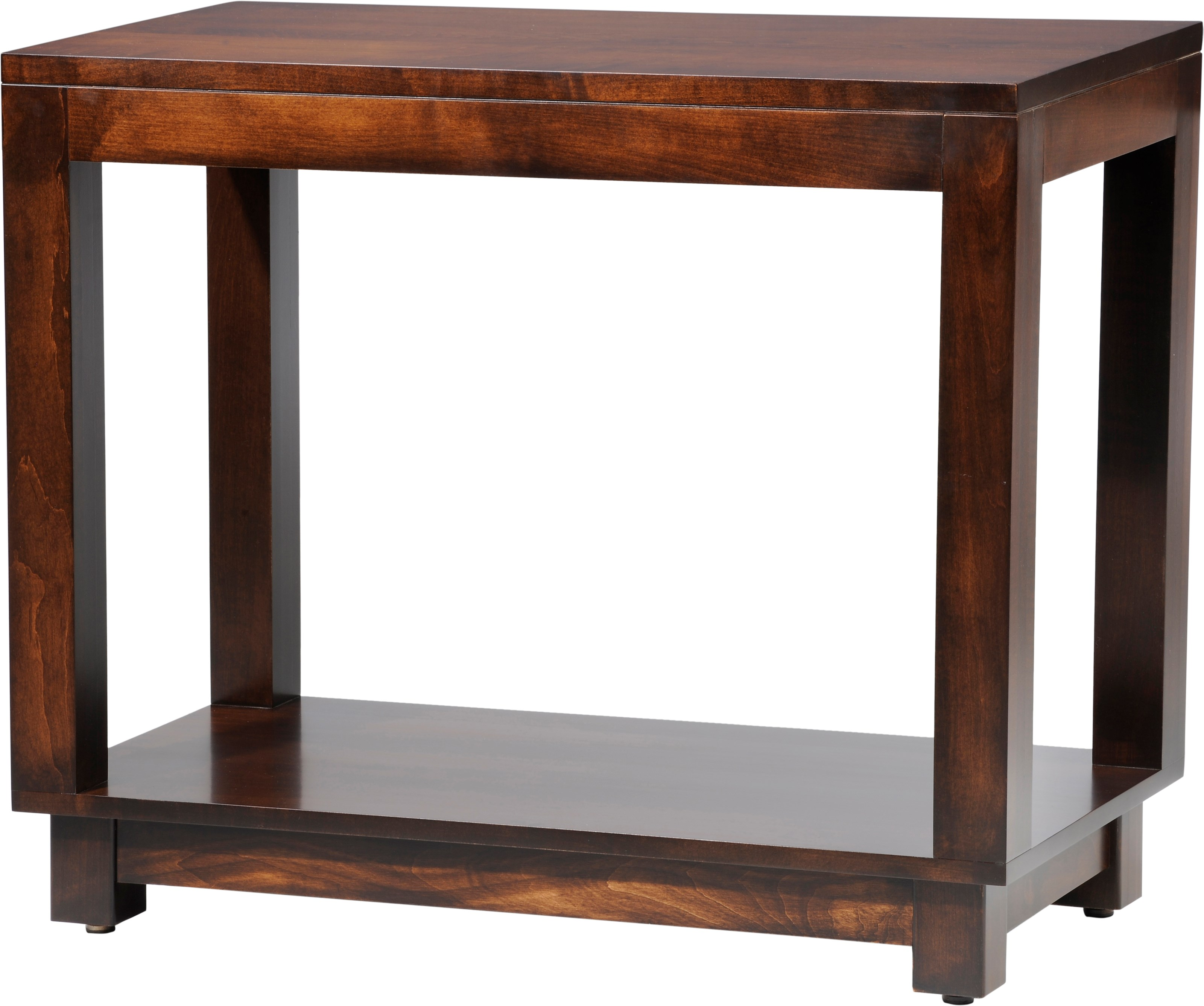 Urban Sofa Table by Y & T Woodcraft at Saugerties Furniture Mart