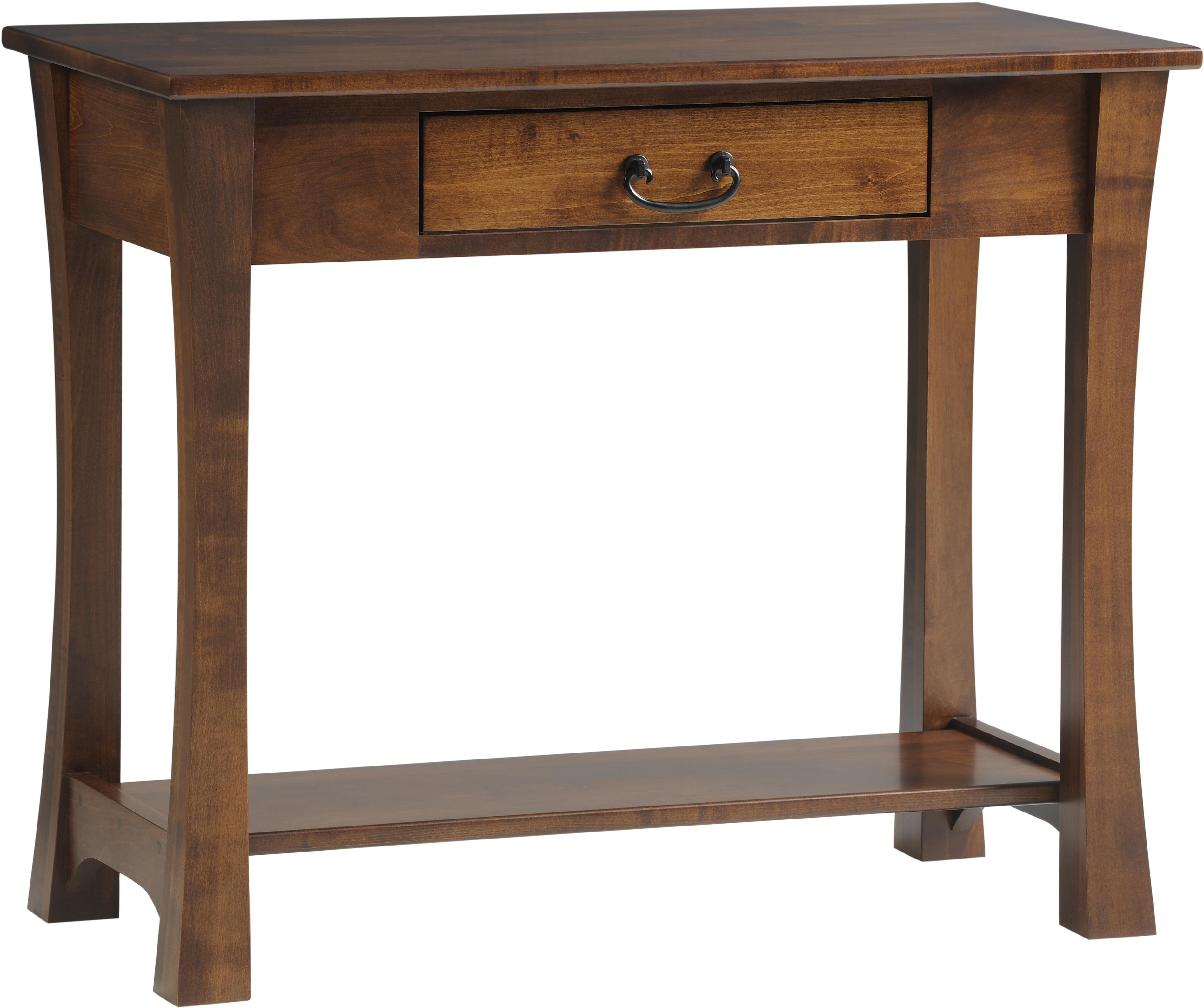 Woodbury Sofa Table by Y & T Woodcraft at Saugerties Furniture Mart