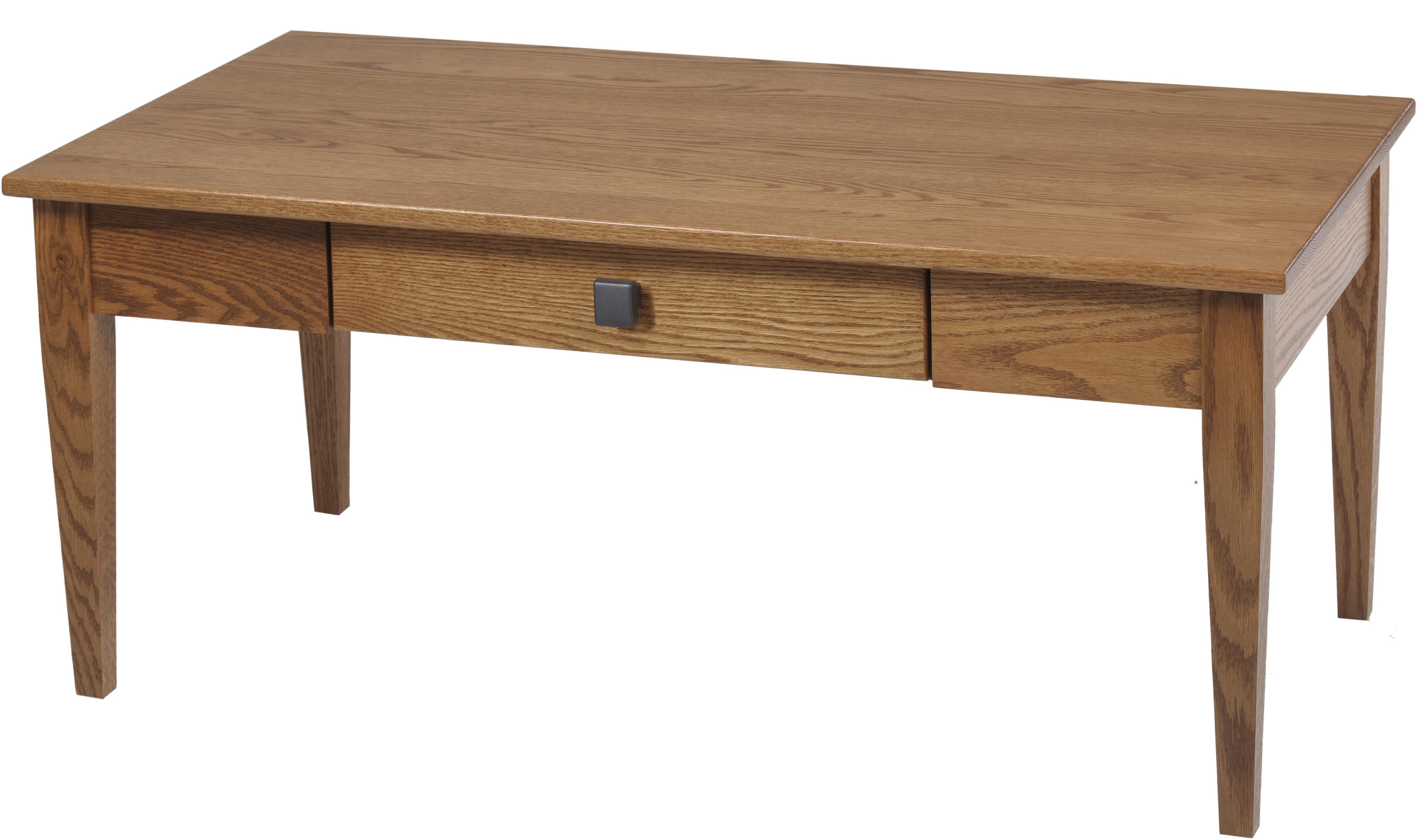 Woodland Shaker Coffee Table by Y & T Woodcraft at Saugerties Furniture Mart