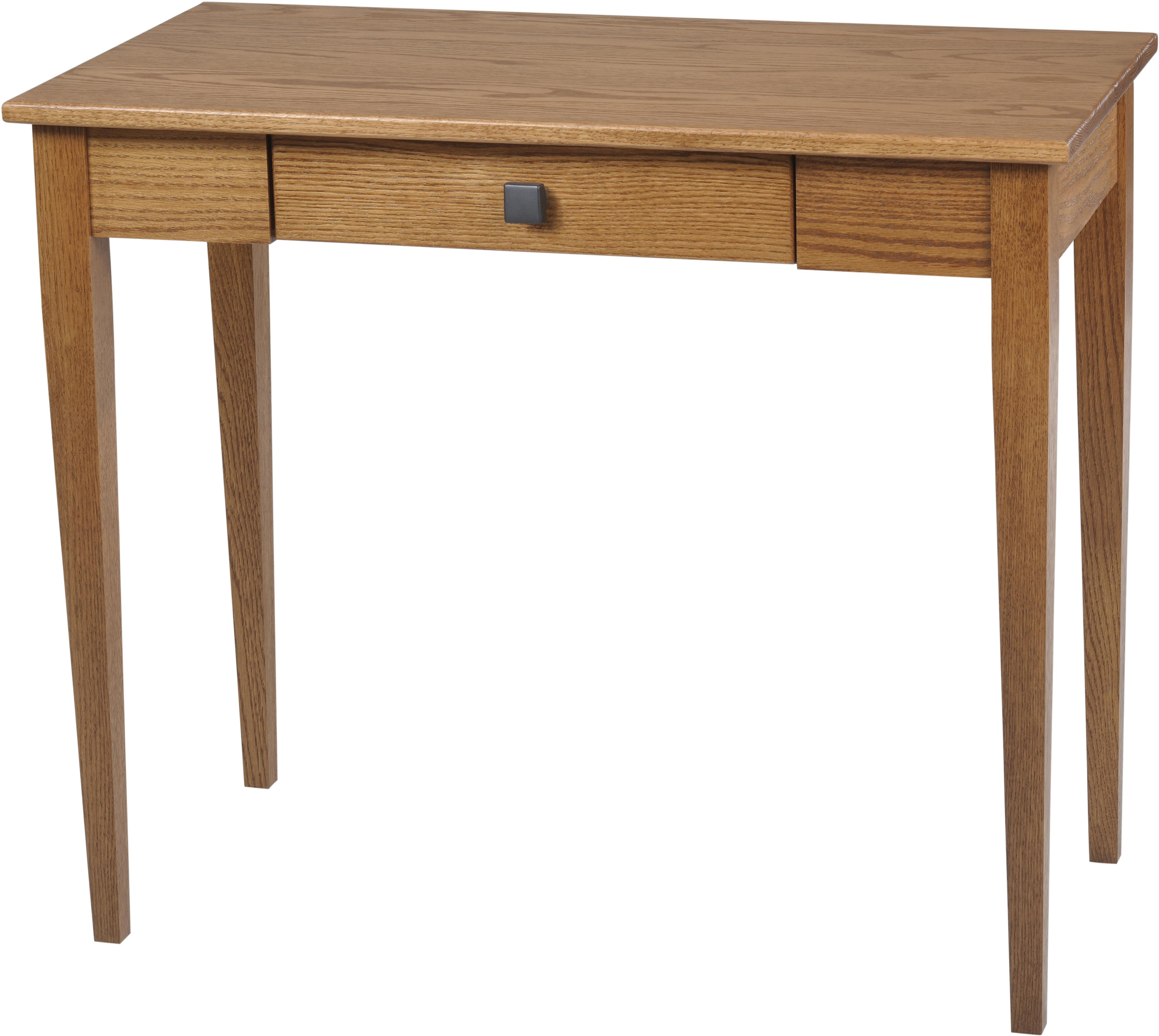 Woodland Shaker Sofa Table by Y & T Woodcraft at Saugerties Furniture Mart