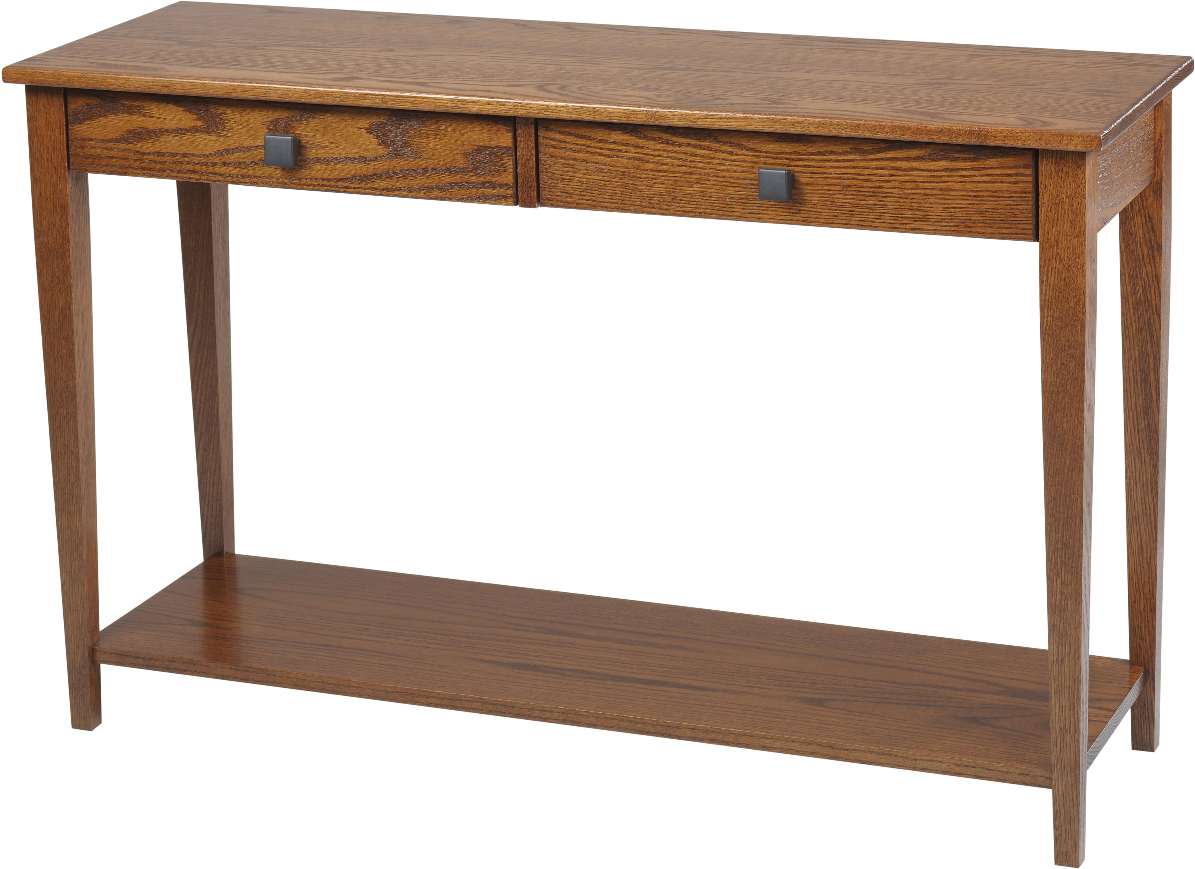 Woodland Shaker Hall Table with Shelf by Y & T Woodcraft at Saugerties Furniture Mart