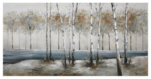 YHD WALL DECOR Birch Alley by Yosemite Home Decor at Walker's Furniture