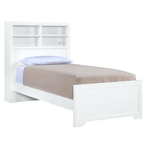 Young America All Seasons Twin Newberry Bookcase Bed