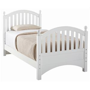 Young America All Seasons Twin Bunkable Bed