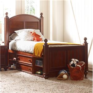 Young America myHaven Twin Low Country Bed & Storage Drawers