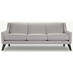Contempary Sofa with Tapered Feet