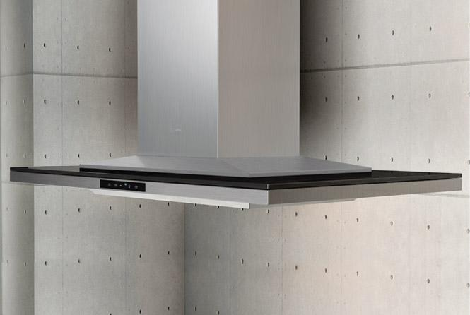 """Arc Collection 42"""" Island Range Hood by Zephyr at Furniture and ApplianceMart"""