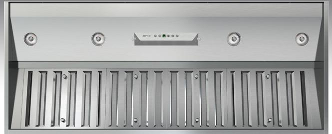 """Essentials Collection - One-Piece Liners 42"""" Range Hood Insert by Zephyr at Furniture and ApplianceMart"""