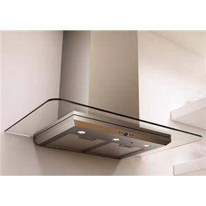 """Zephyr Essentials Collection- Chimney Wall and Downdraft 36"""" Wall-Mount Range Hood"""