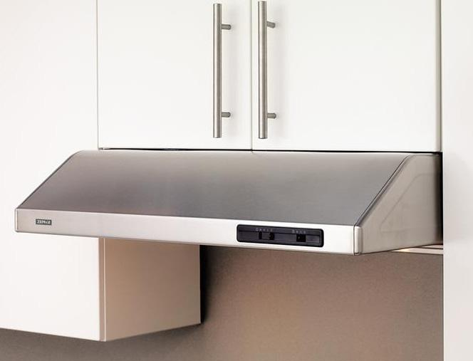 "Essentials Collection- Under Cabinet 42"" Under-the-Cabinet Range Hood  by Zephyr at Furniture and ApplianceMart"