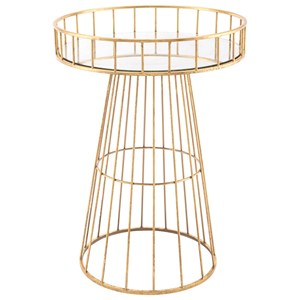 Metal Round Table Large