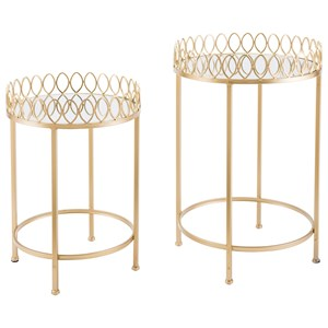 Set of 2 Tray Tables