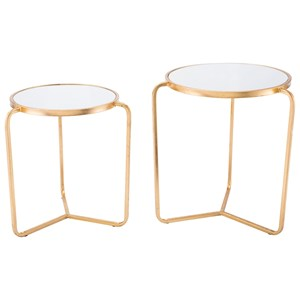 Set of 2 Tripod Tables