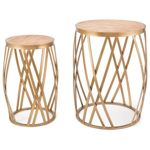 Criss Cross Set of 2 Tables