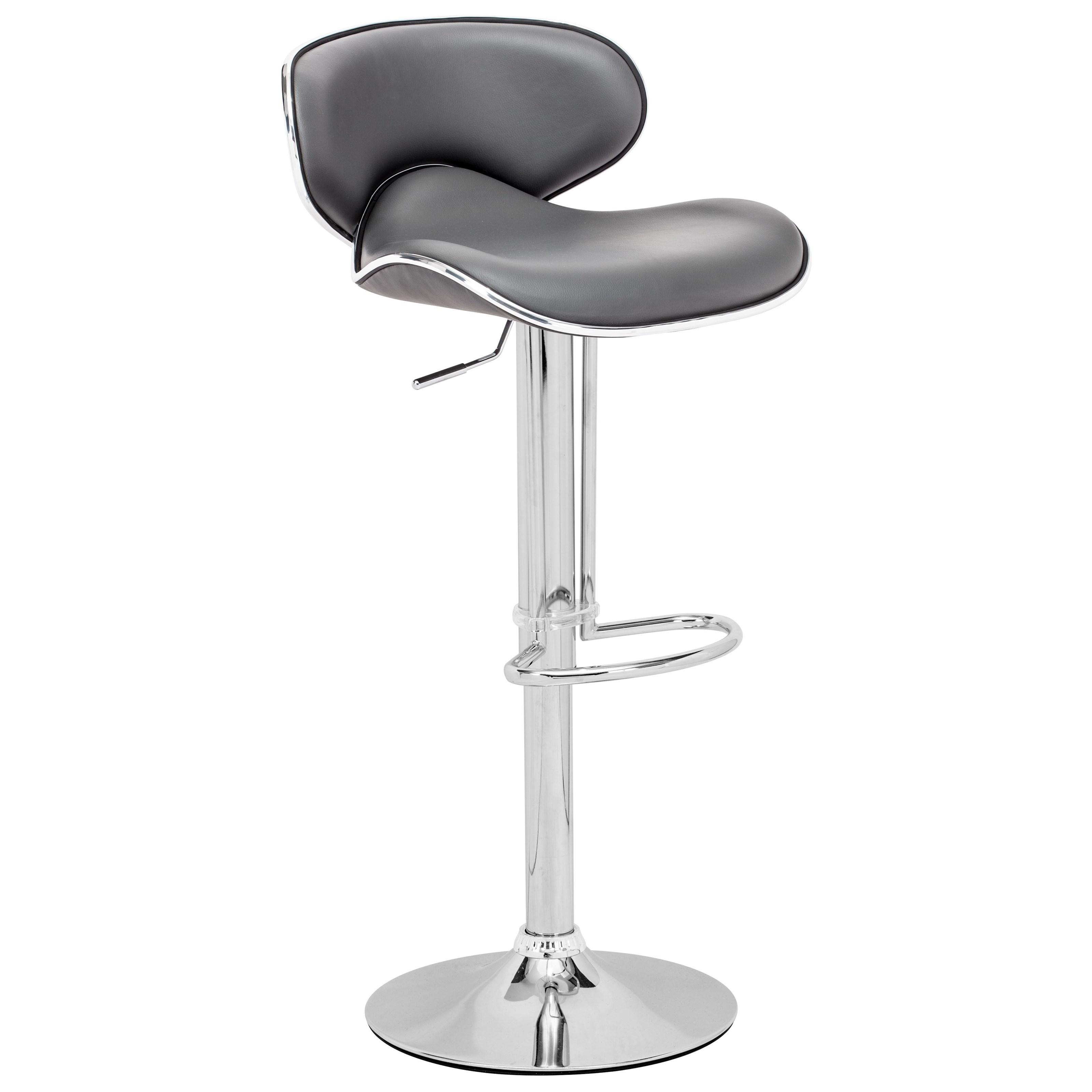Bar Fly Bar Chair by Zuo at Nassau Furniture and Mattress