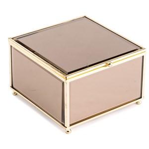 Brown Mirror Box Small