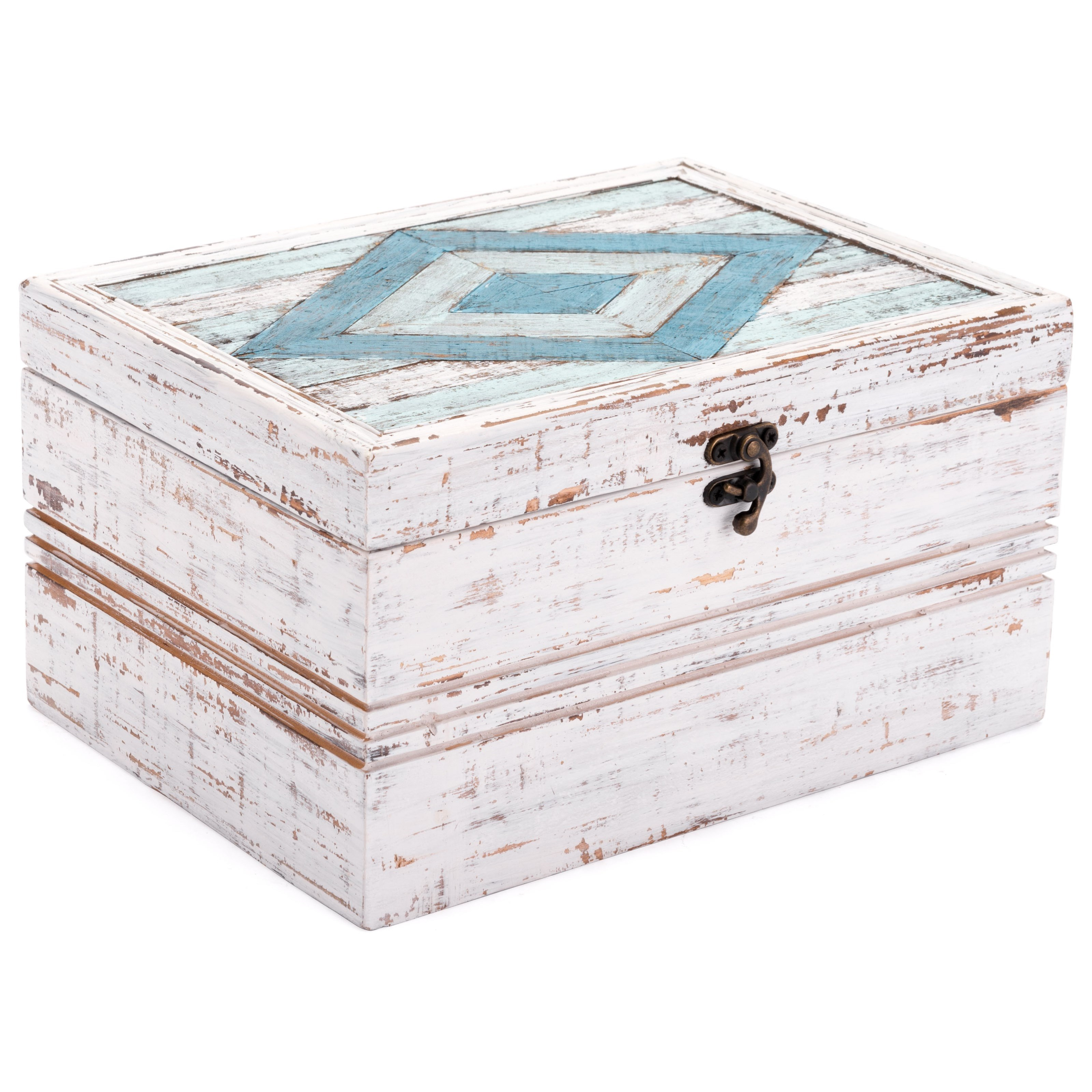 Boxes, Bowls and Trays Rombo Antique Box by Zuo at Nassau Furniture and Mattress