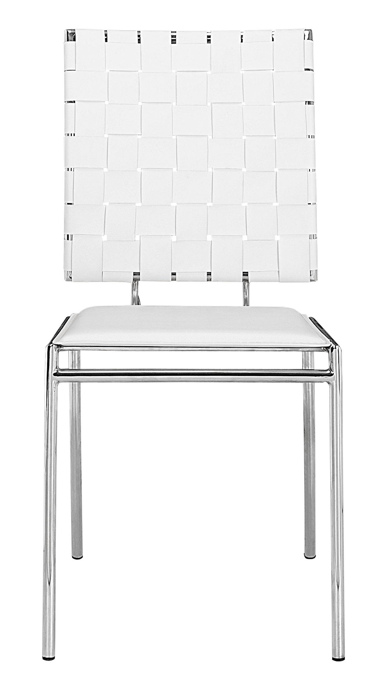 Criss Cross Dining Side Chair by Zuo at HomeWorld Furniture