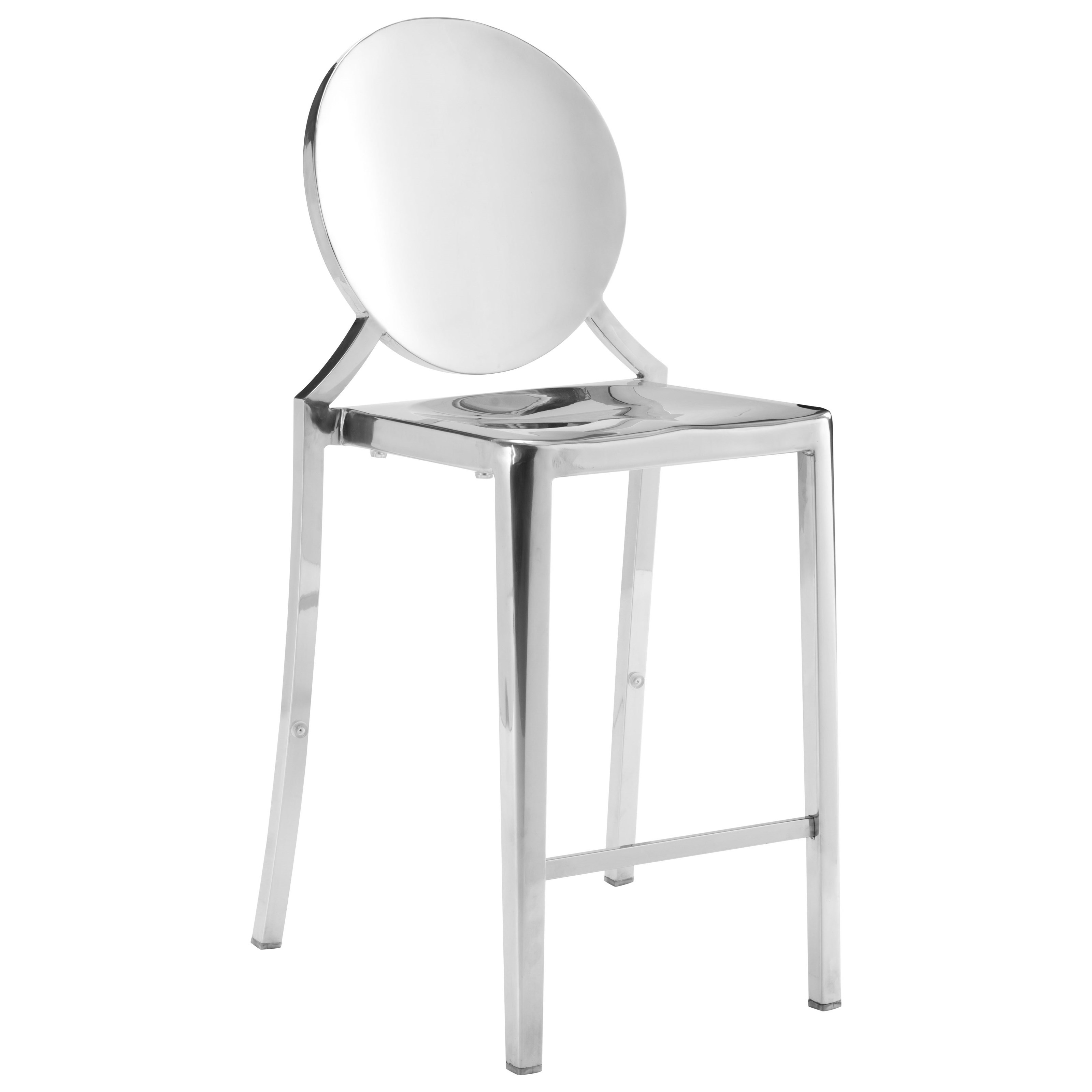 Eclipse Counter Chair by Zuo at Nassau Furniture and Mattress